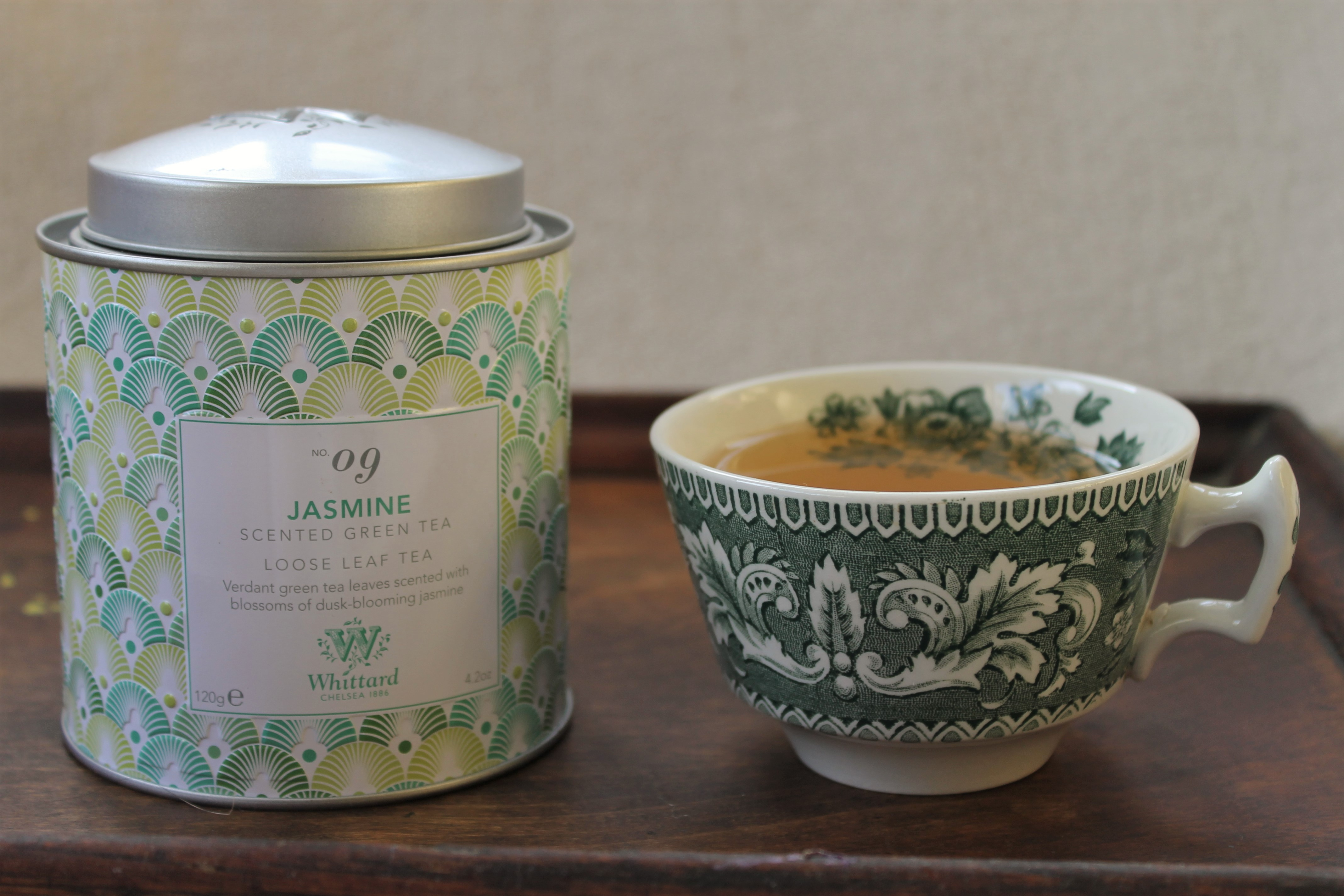 Whittard Jasmine Green Tea Review
