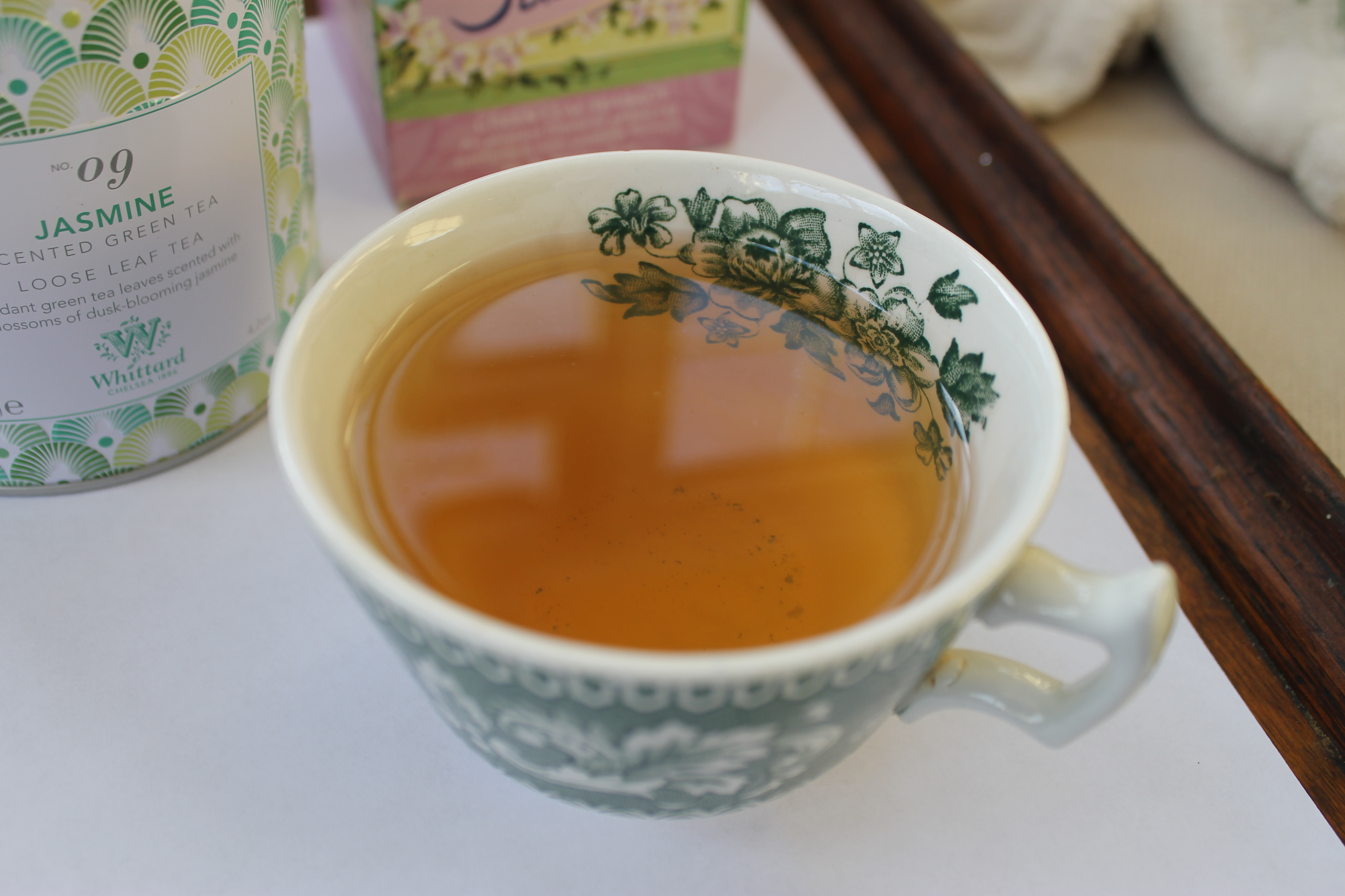Chinese jasmine green tea from Whittard