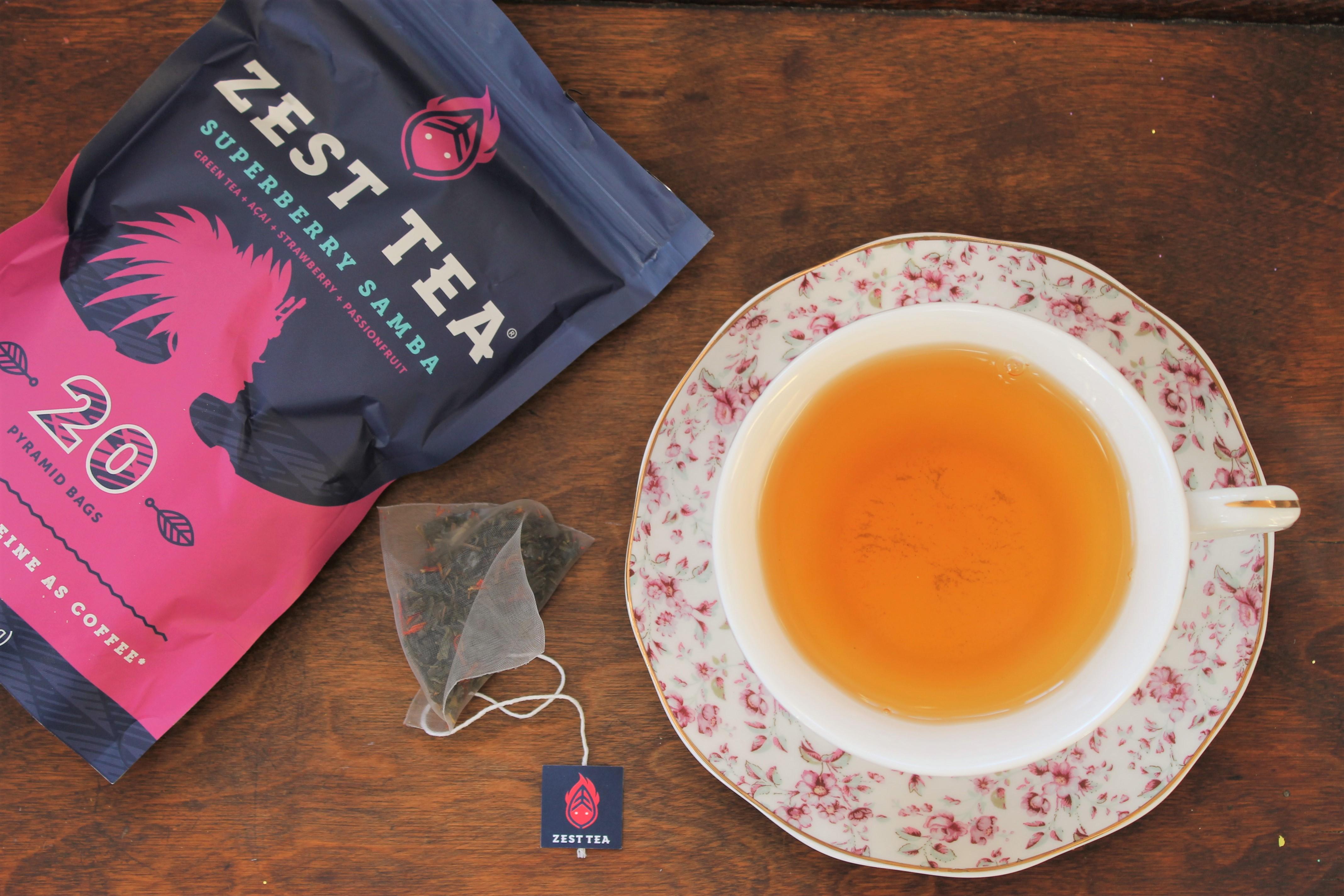 Zest Tea Superberry Samba Review