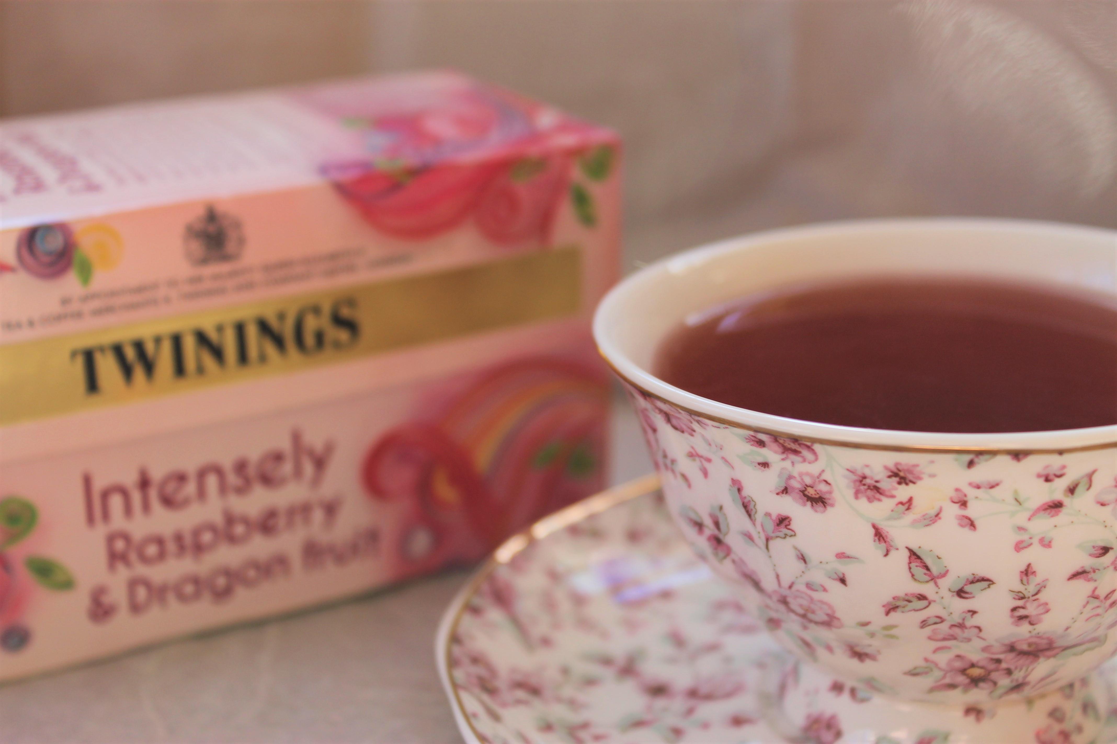 dragonfruit raspberry tea