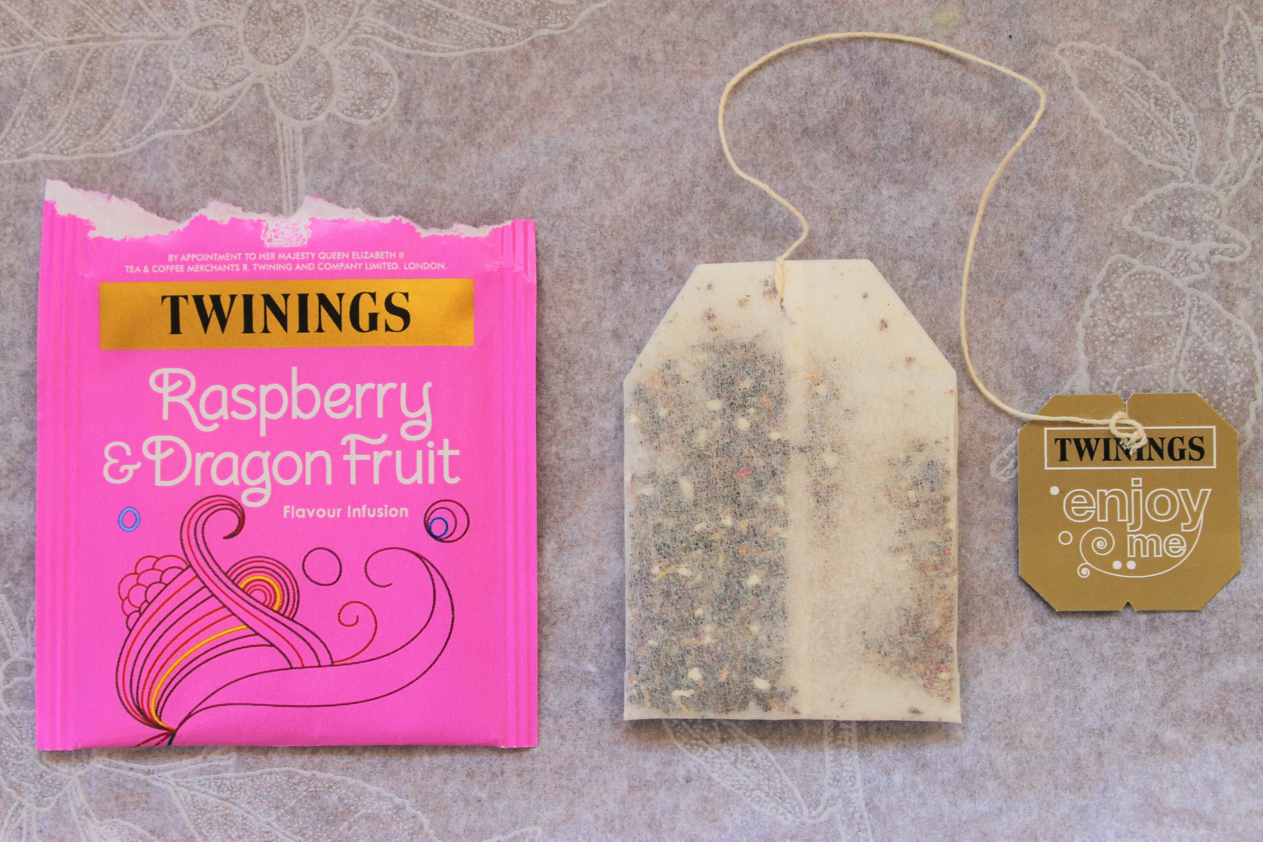 twinings dragonfruit tea wrapper