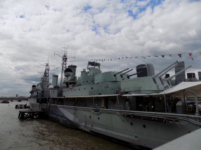 HMS Belfast: The British Ship of World War Two