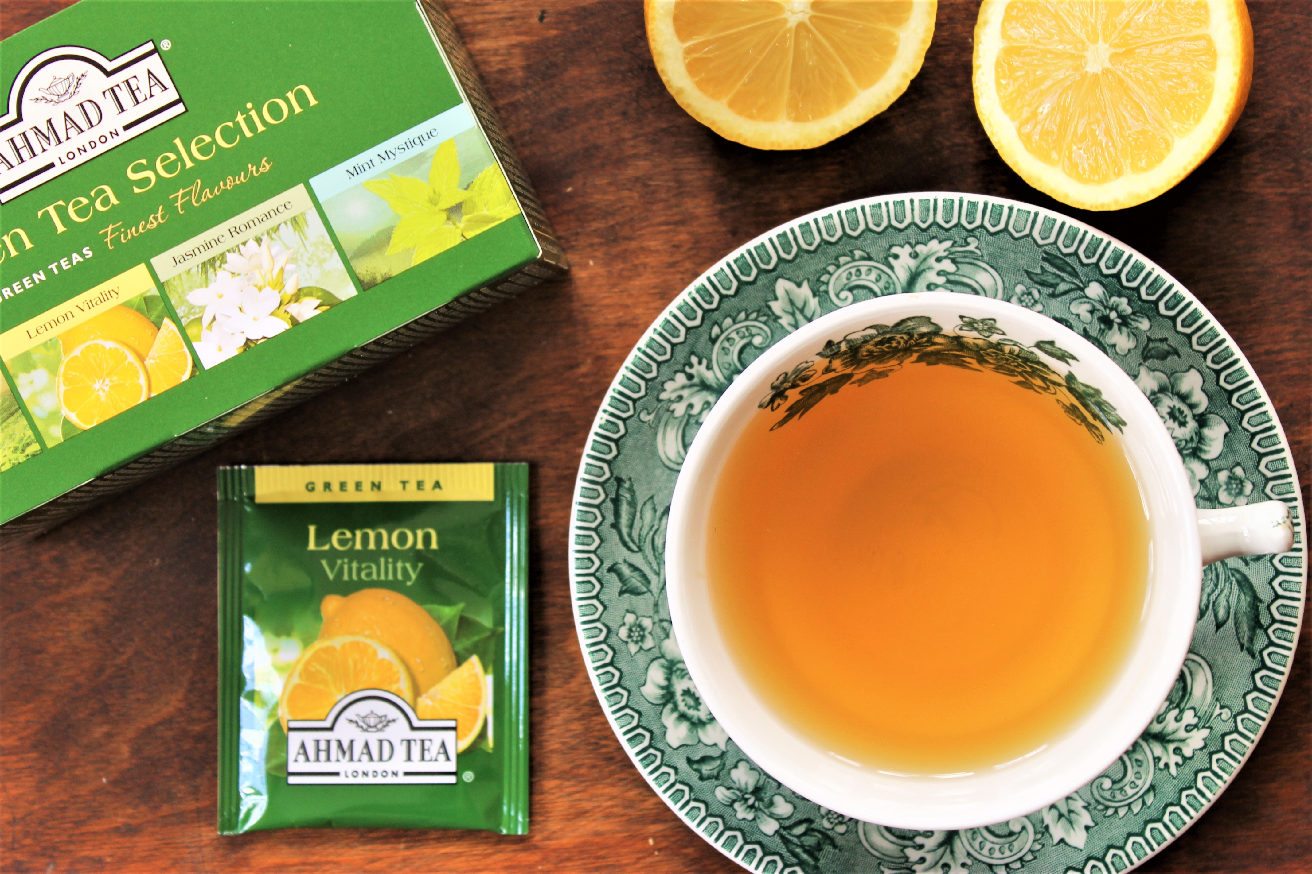 Ahmad Tea Lemon Vitality Review
