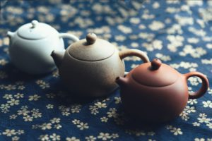 clay tea pots