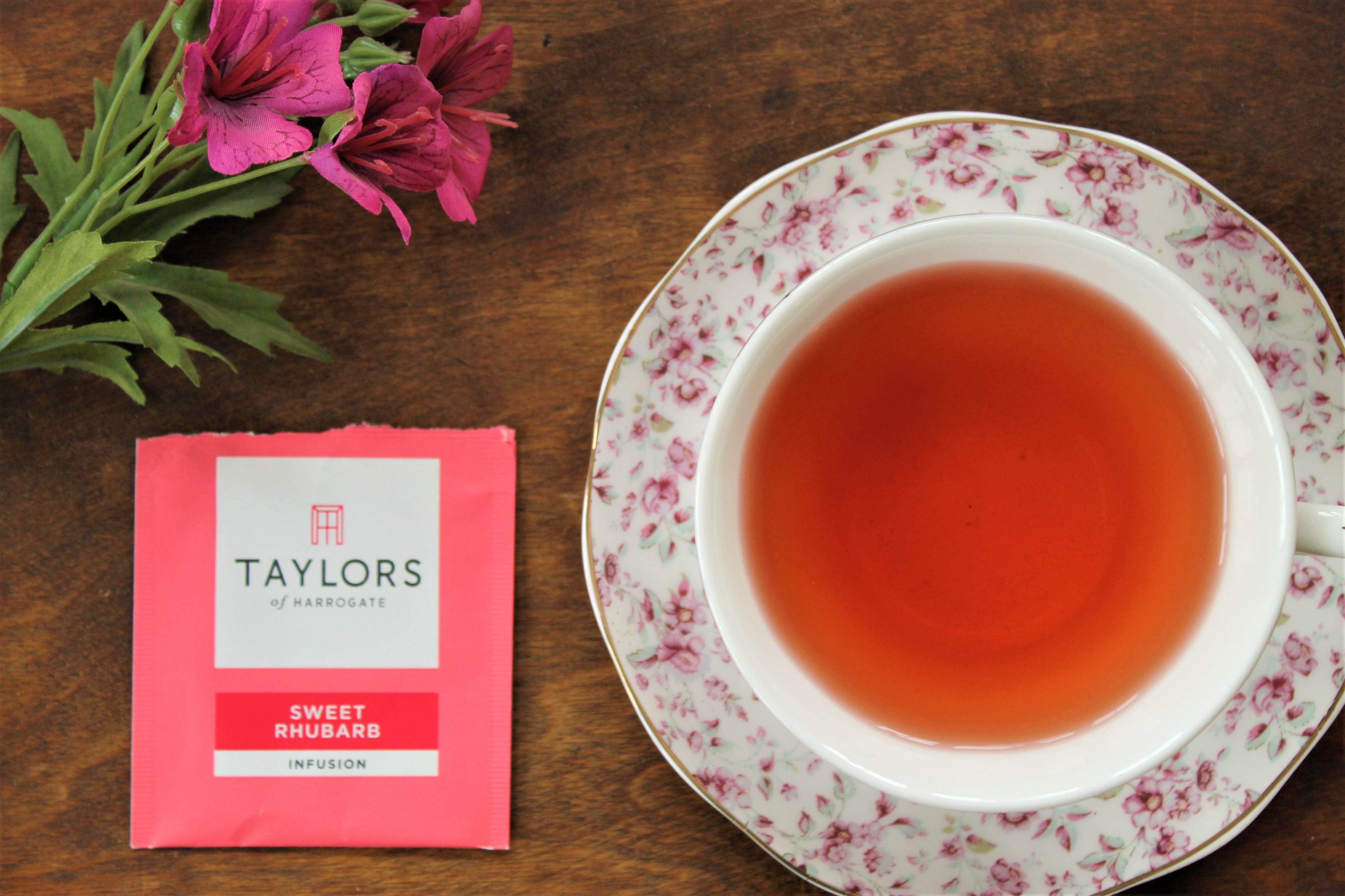 Taylors of Harrogate Sweet Rhubarb Tea Review