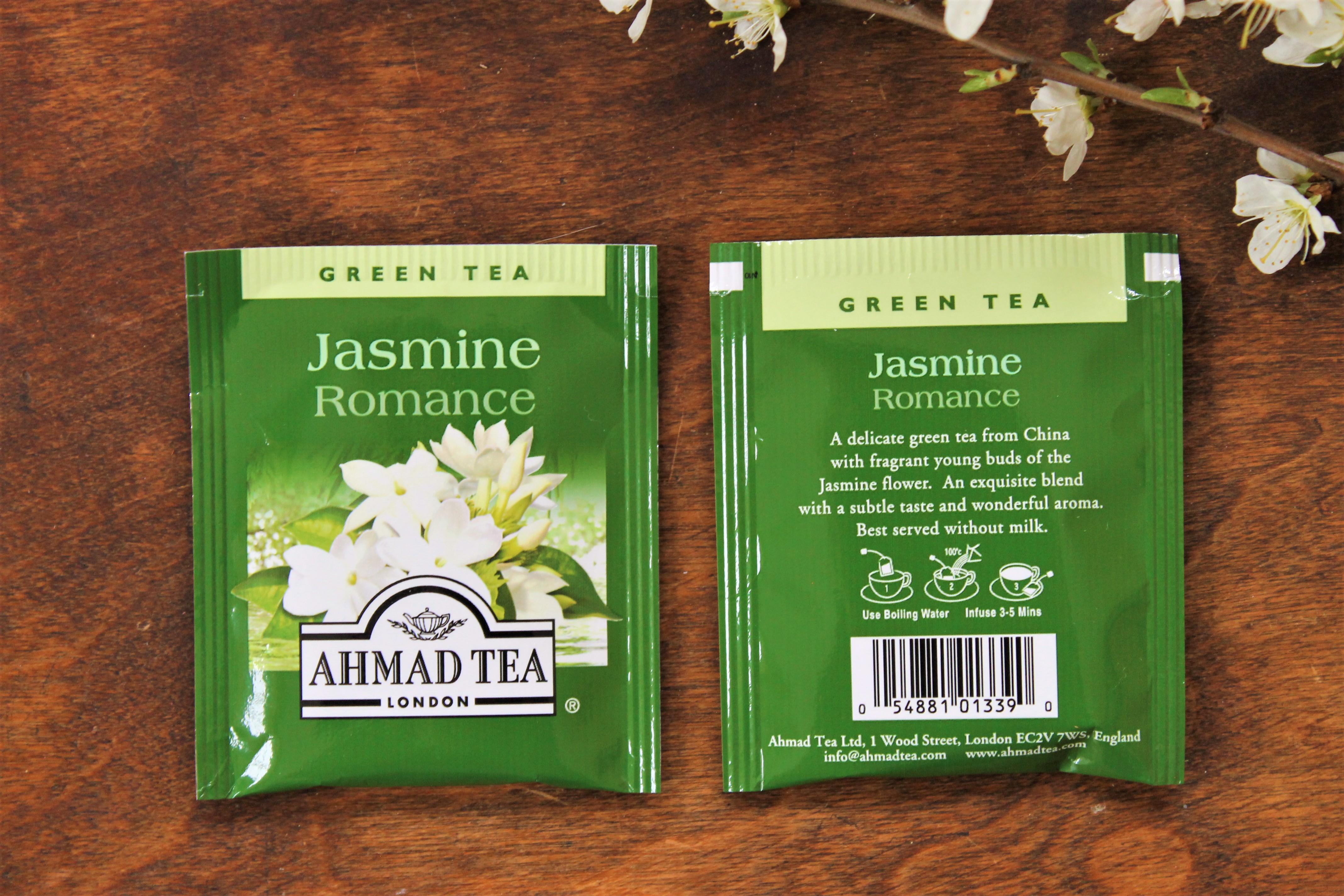 ahmad tea jasmine romance tea bags