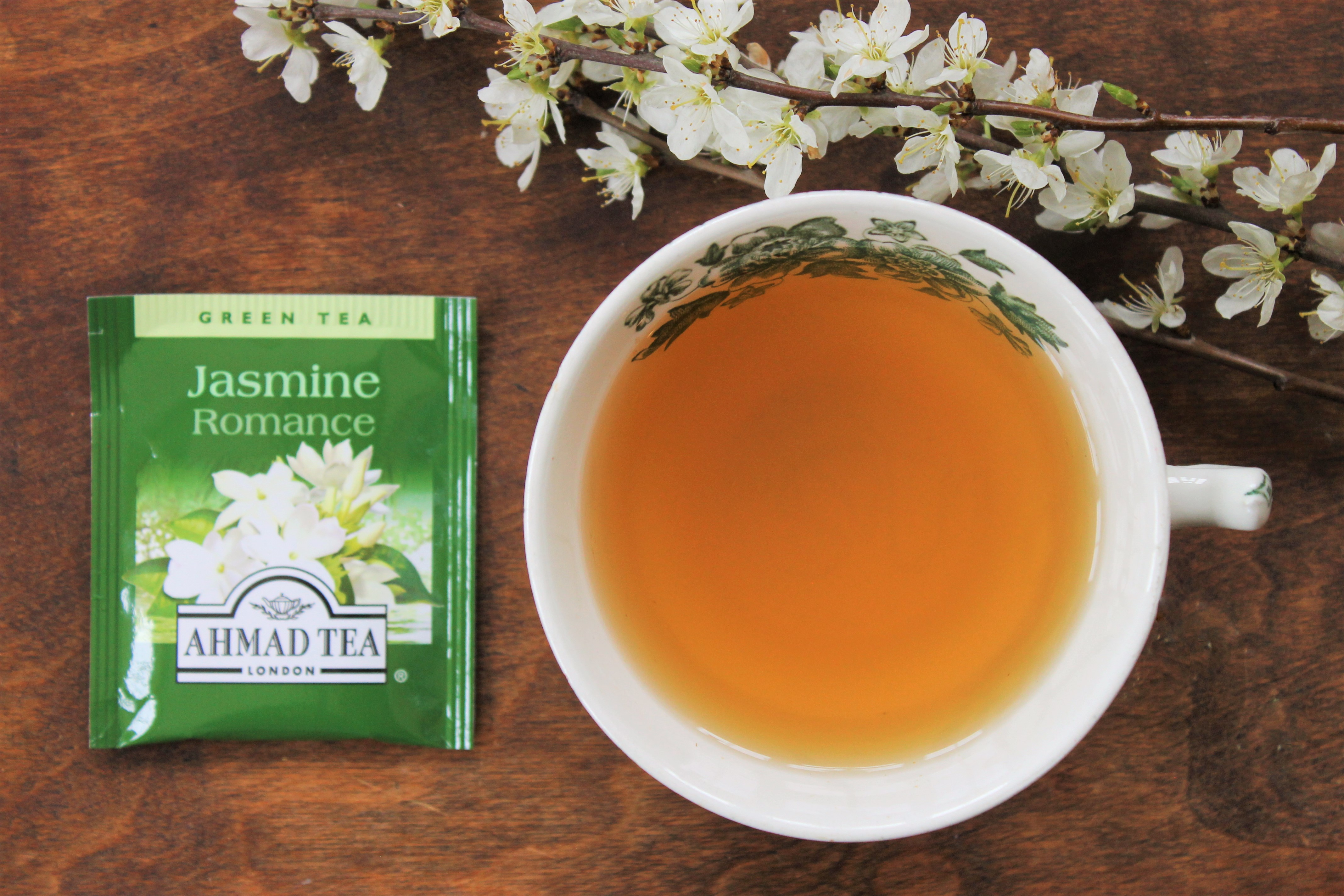 Ahmad Tea Jasmine Romance Tea Review