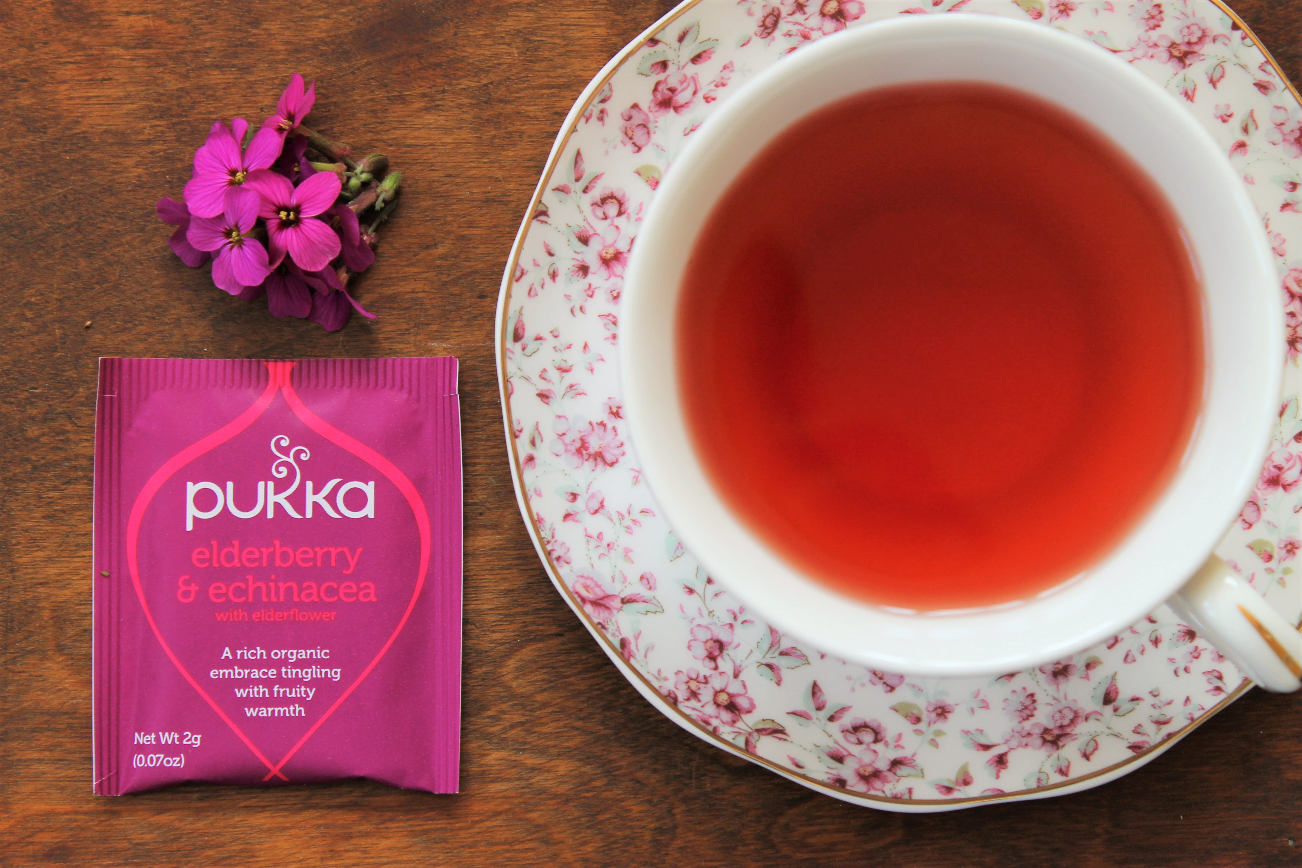 Pukka Elderberry & Echinacea Tea Review
