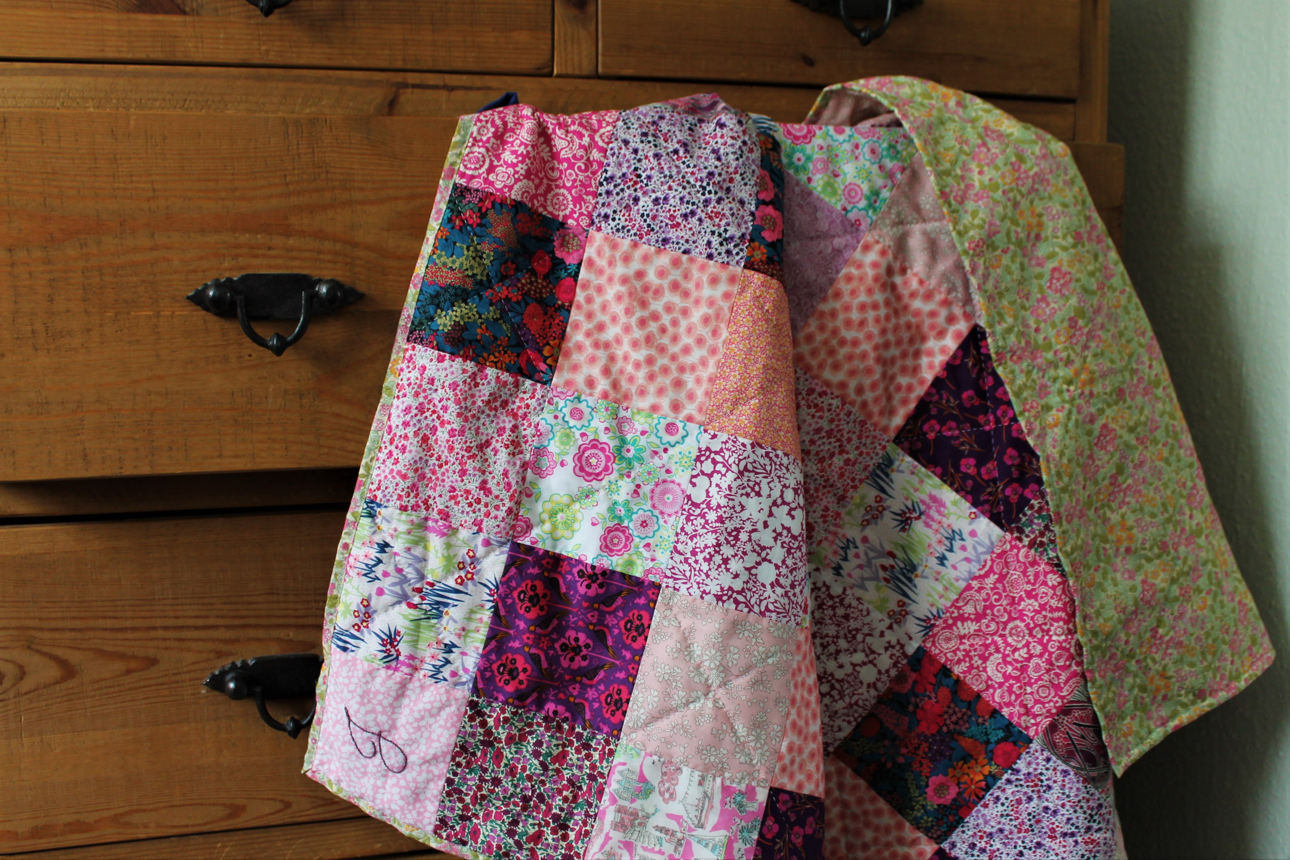 Jean's Birthday Quilt – A Beginners Guide to Quilting Part 1