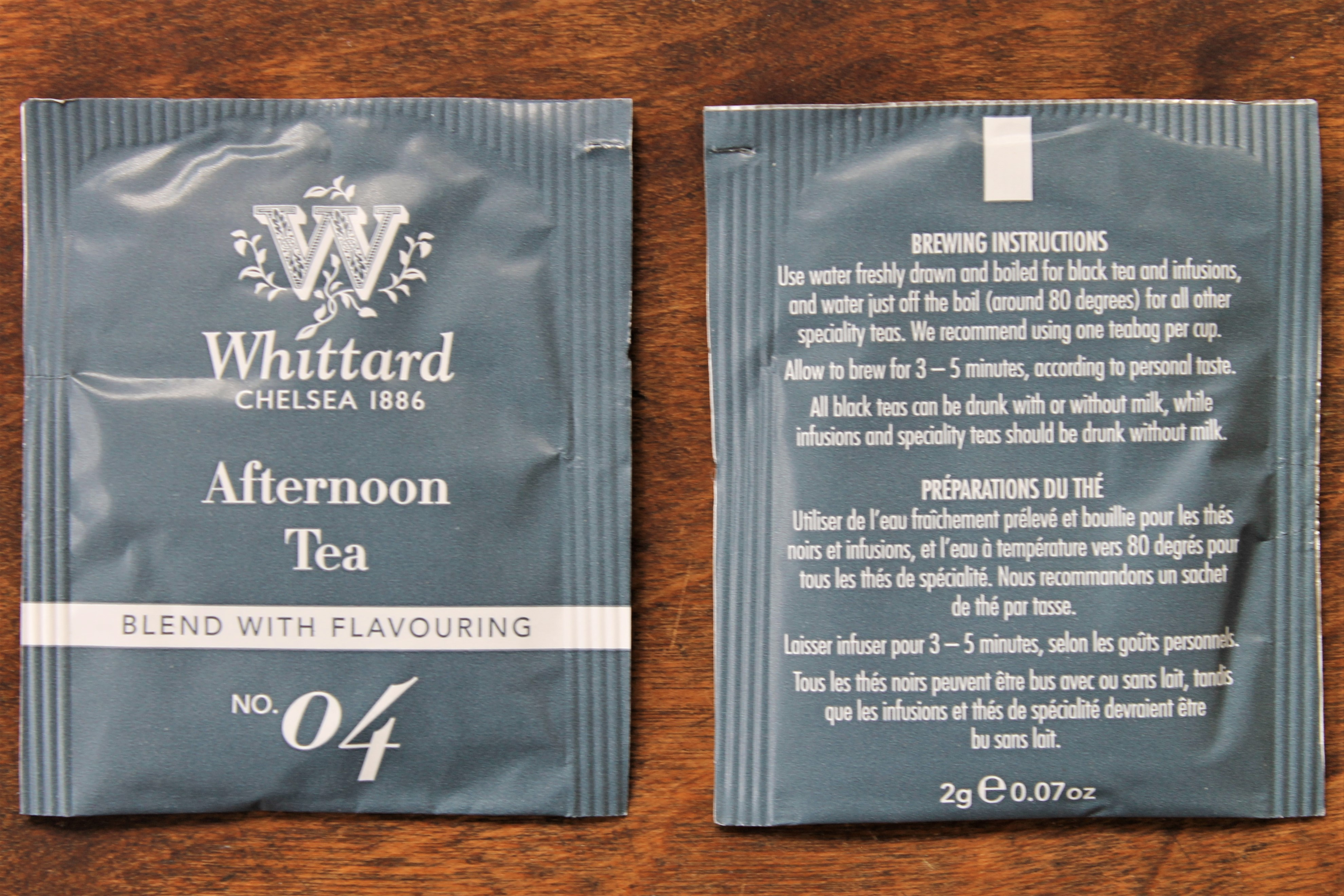 whittard afternoon tea bags