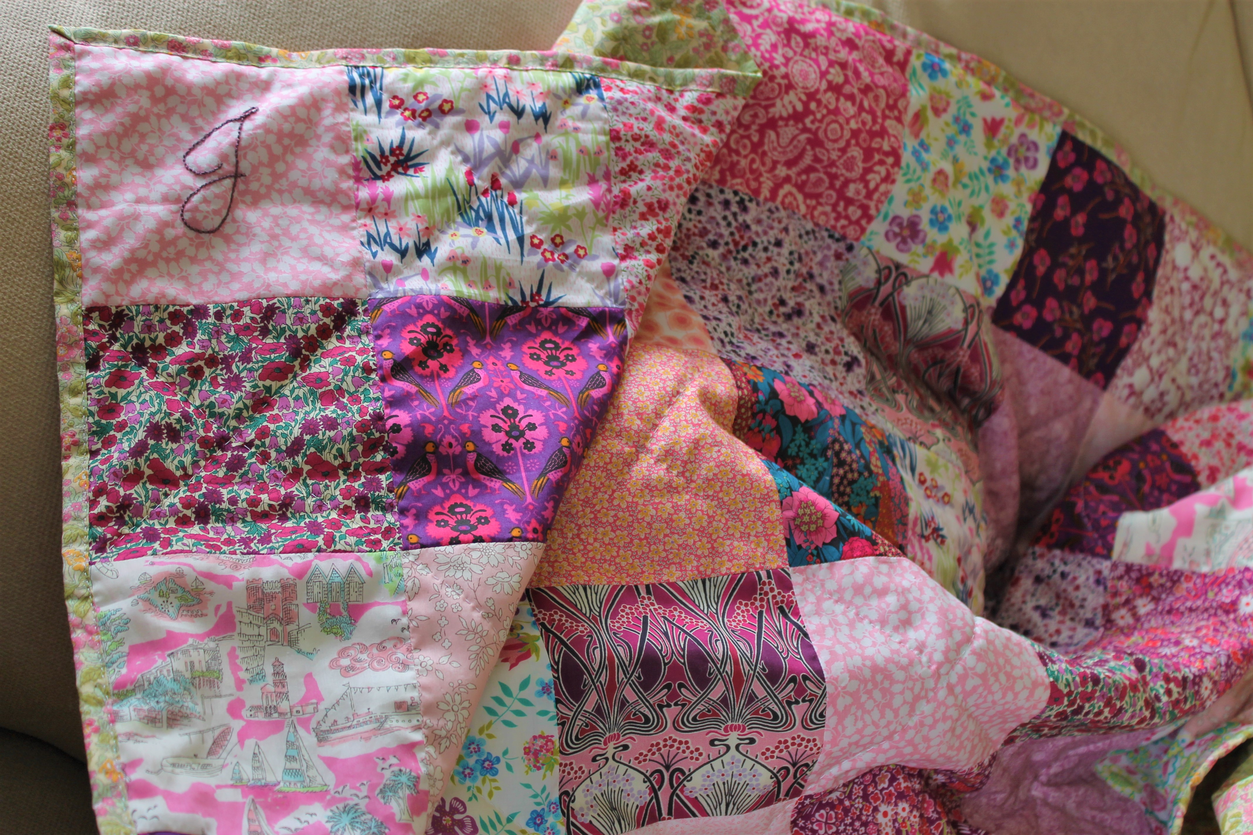 Jean's Birthday Quilt – A Beginners Guide to Quilting Part 3