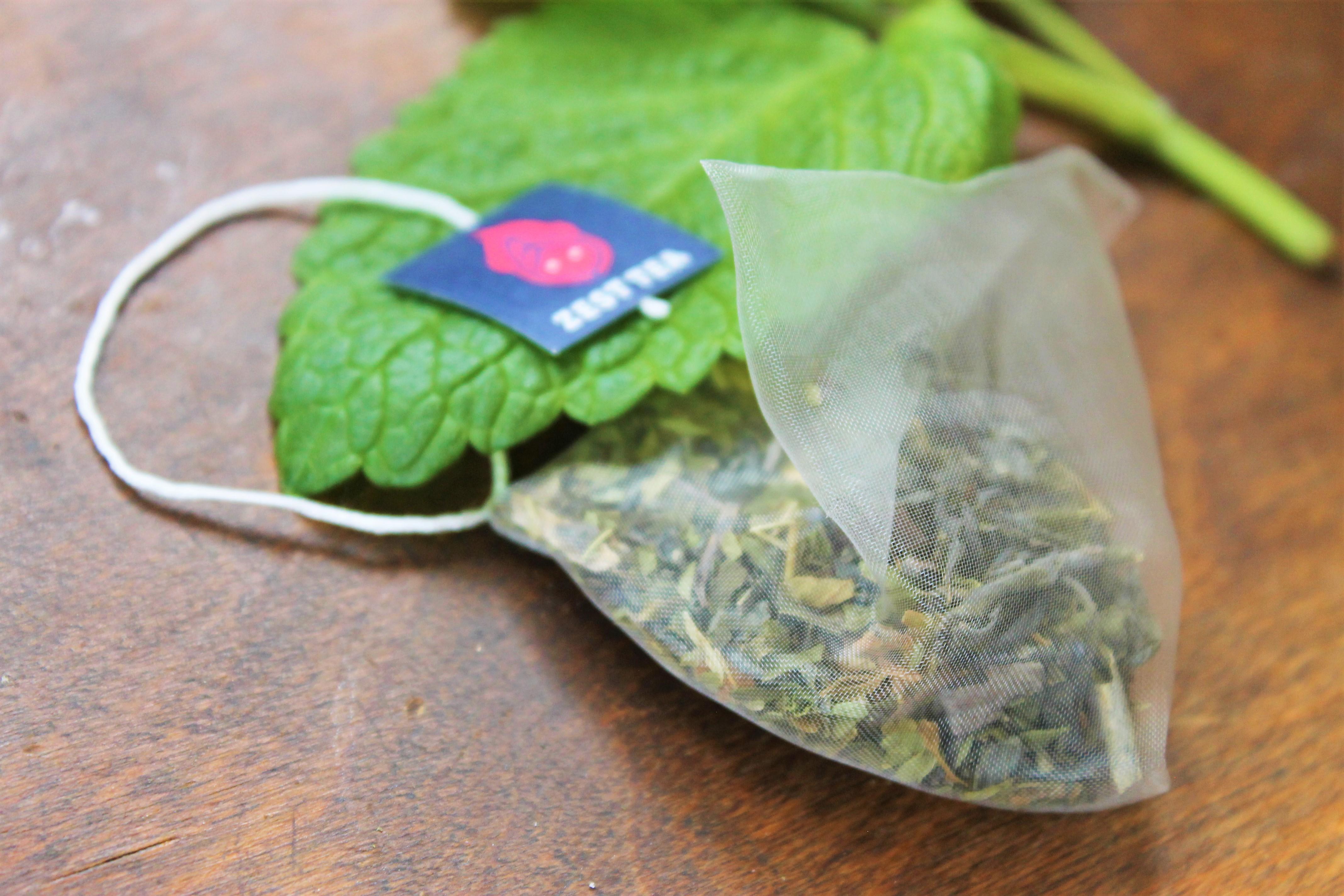 zest mint green tea
