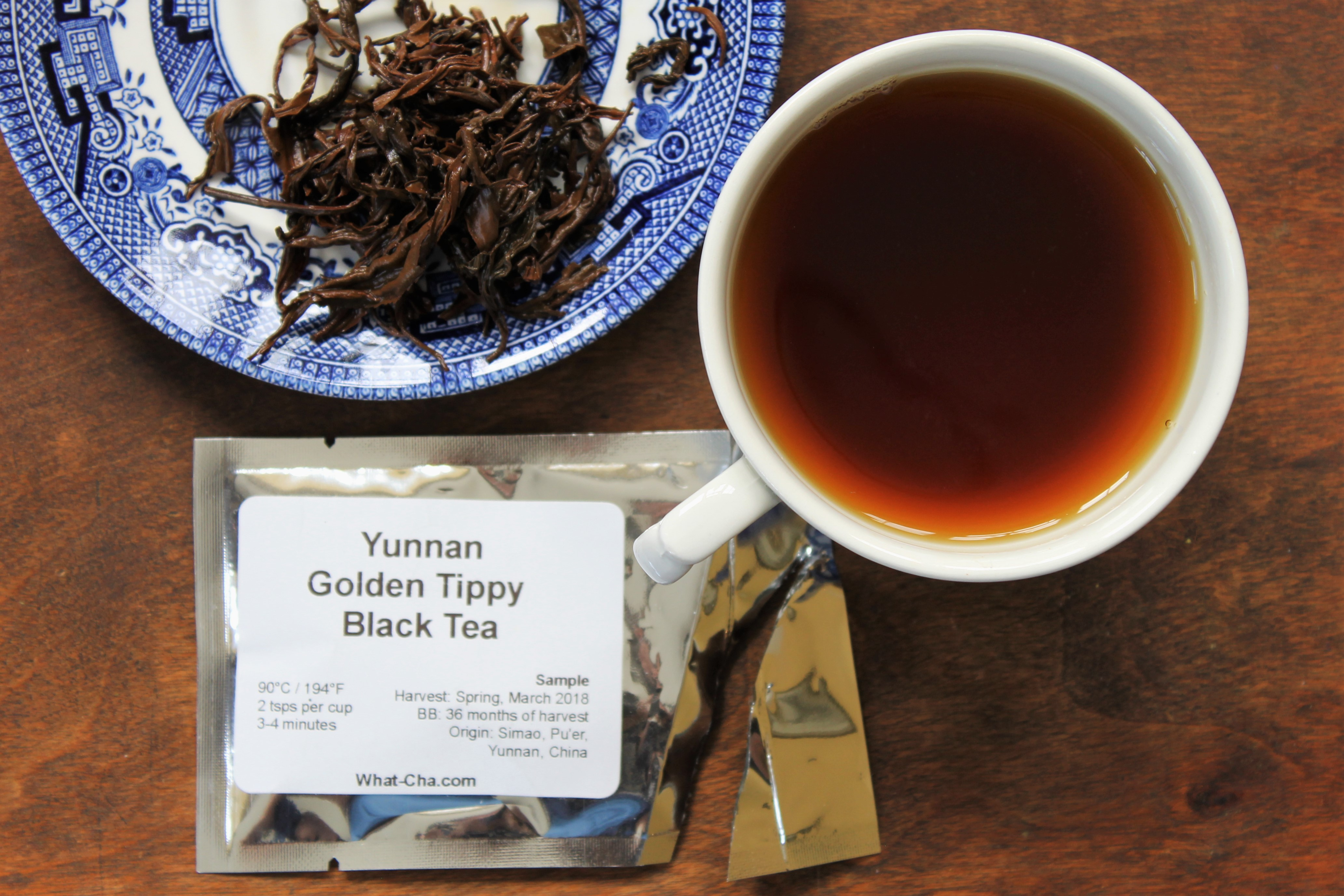 What-Cha China Yunnan Golden Tippy Black Tea Review
