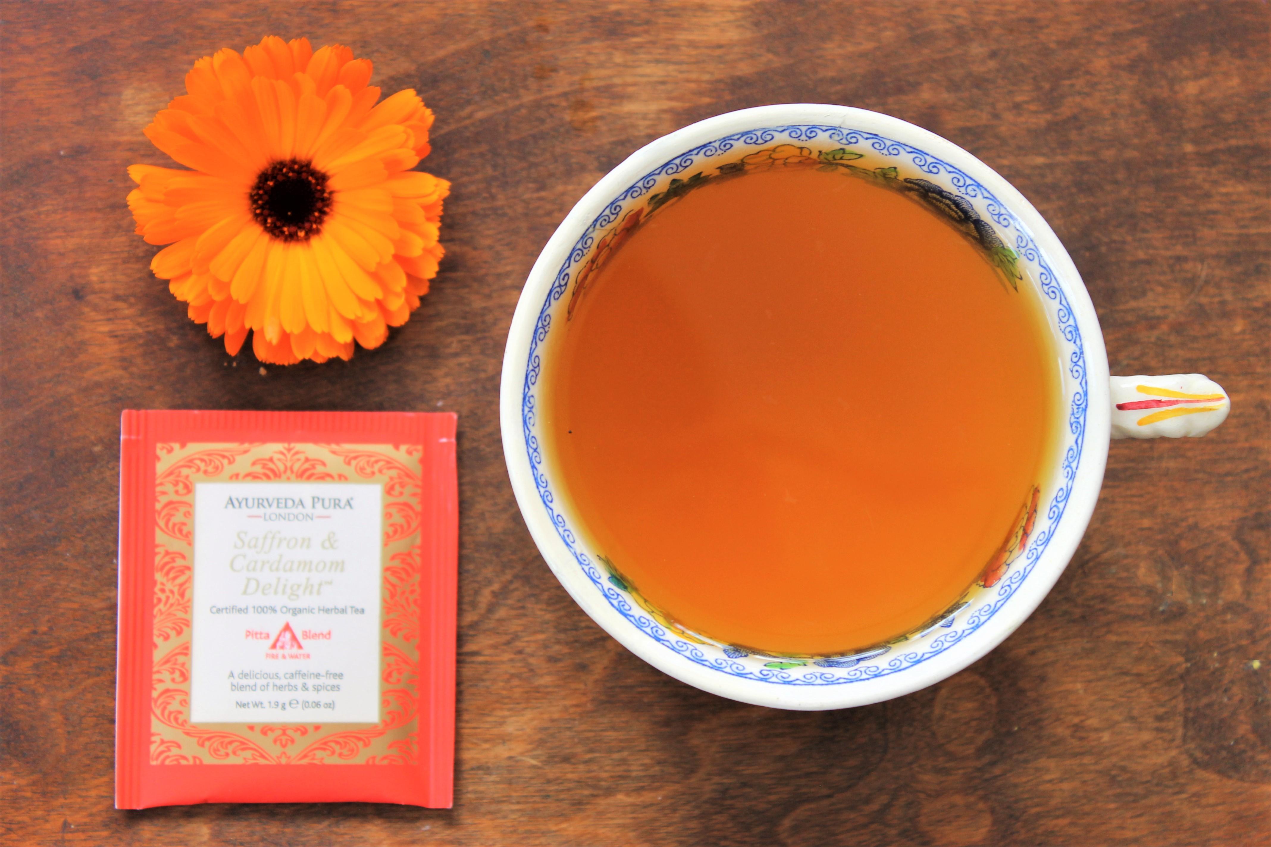 Ayurveda Pura Saffron & Cardamom Delight Tea Review