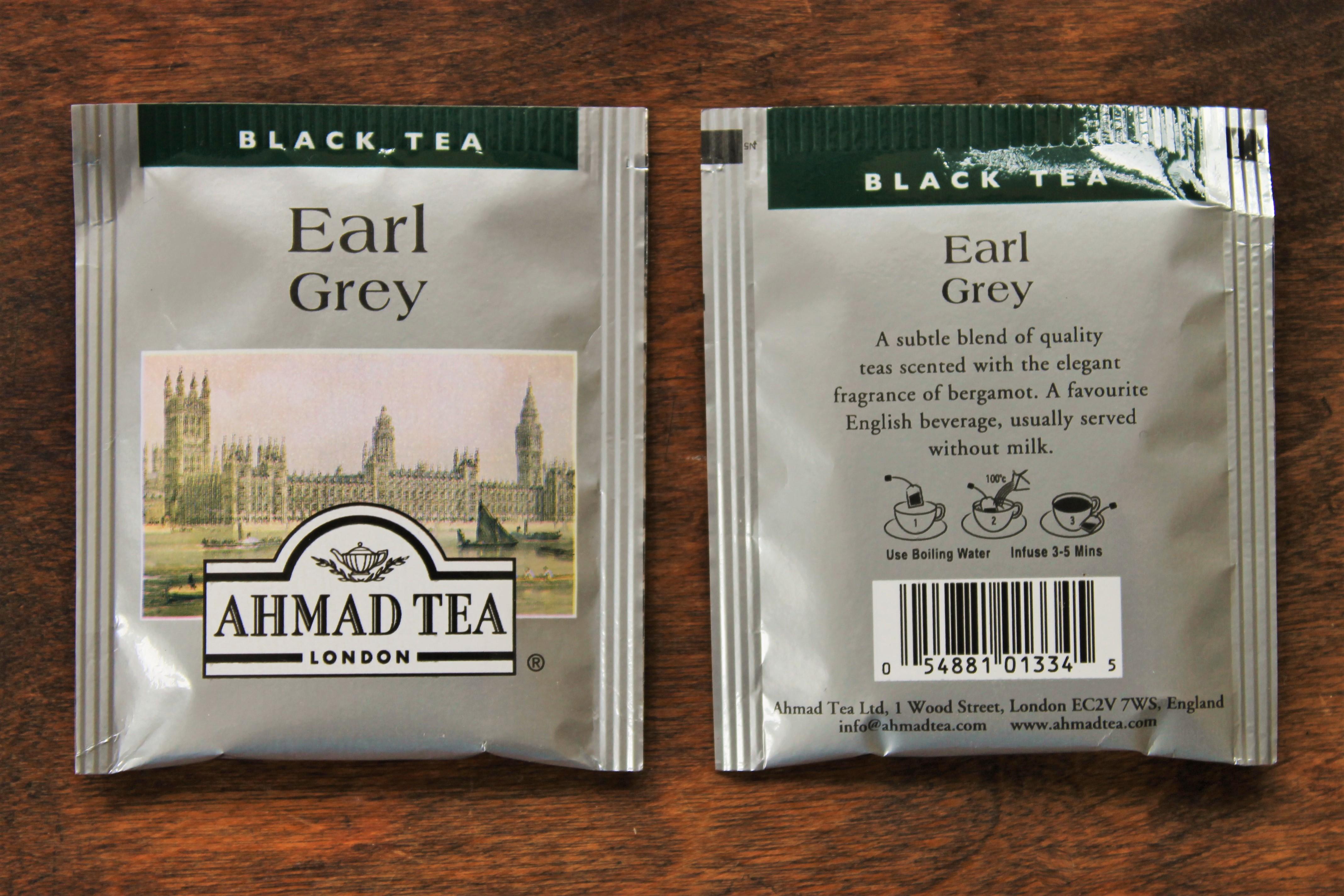 ahmad earl grey teabags