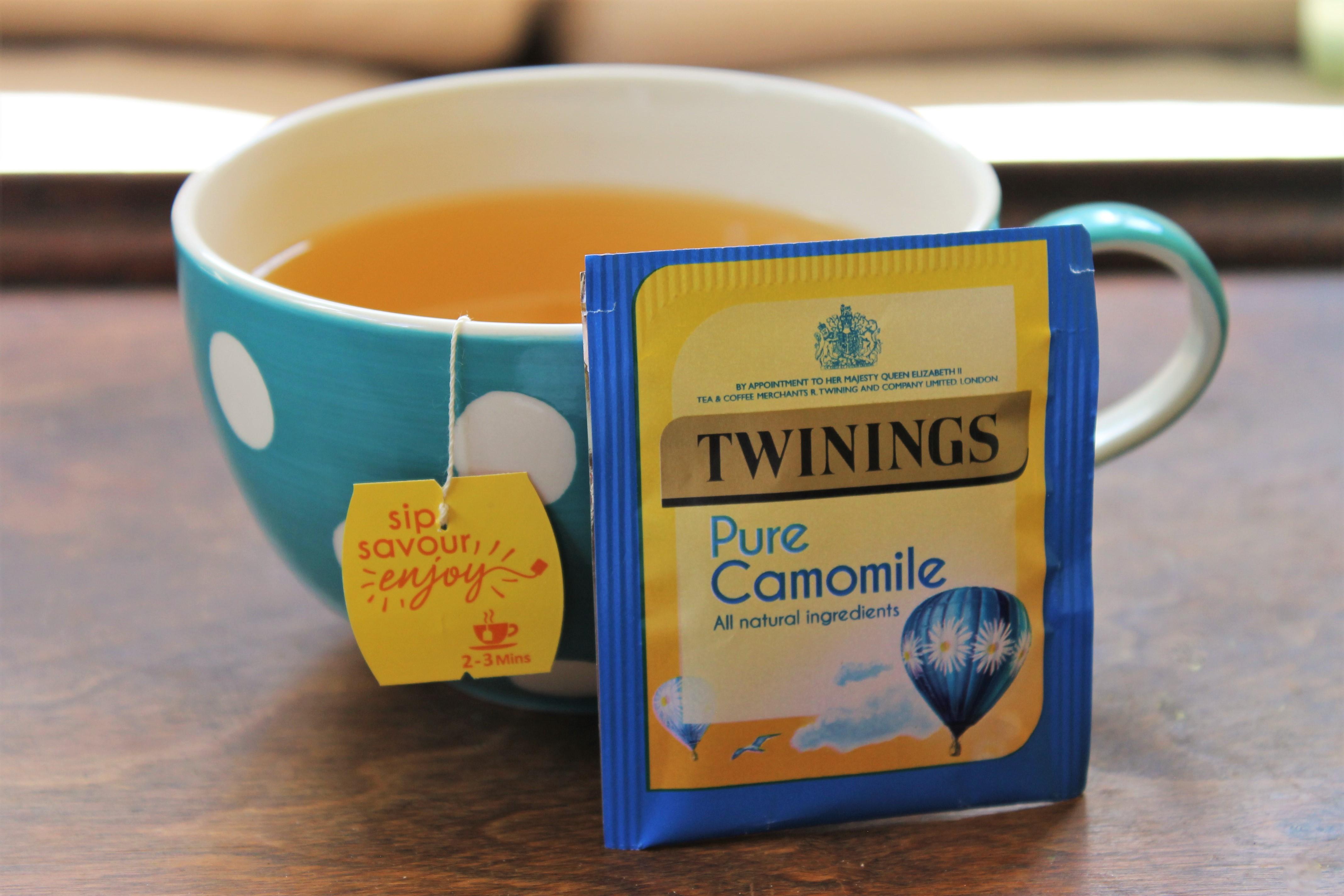 twinings camomile tea review