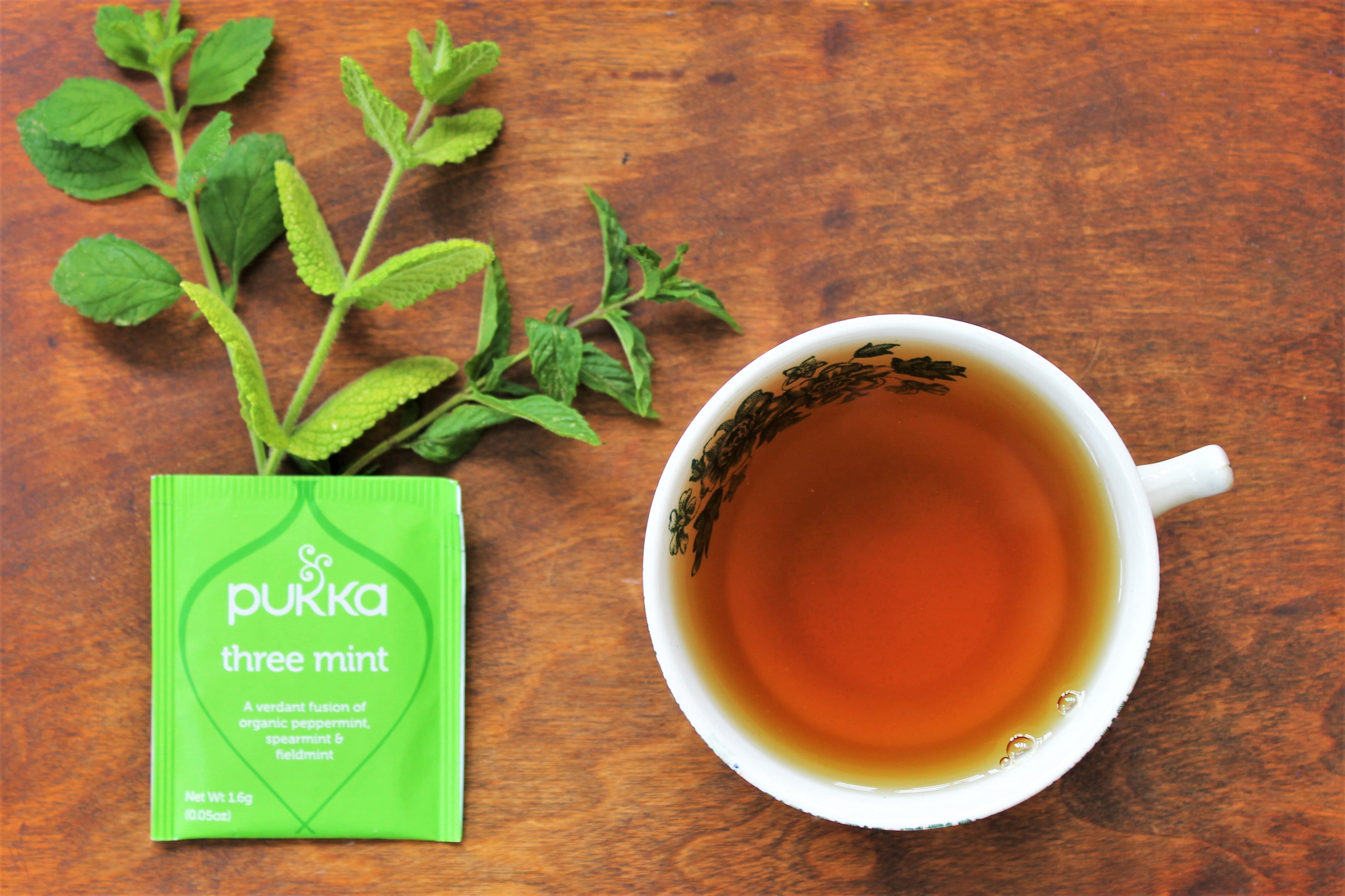 Pukka Three Mint Tea Review