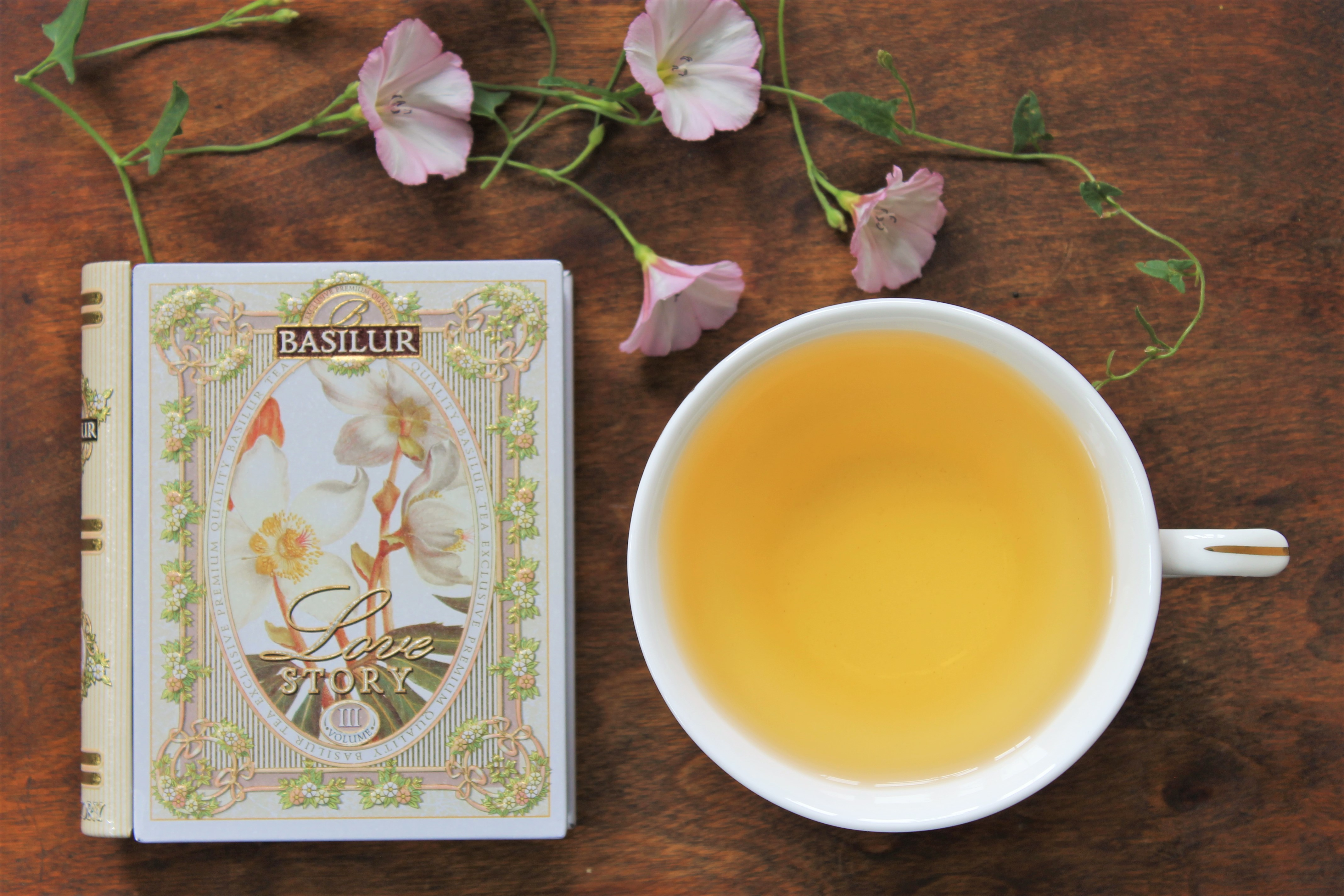 Basilur Love Story Volume III Tea Review