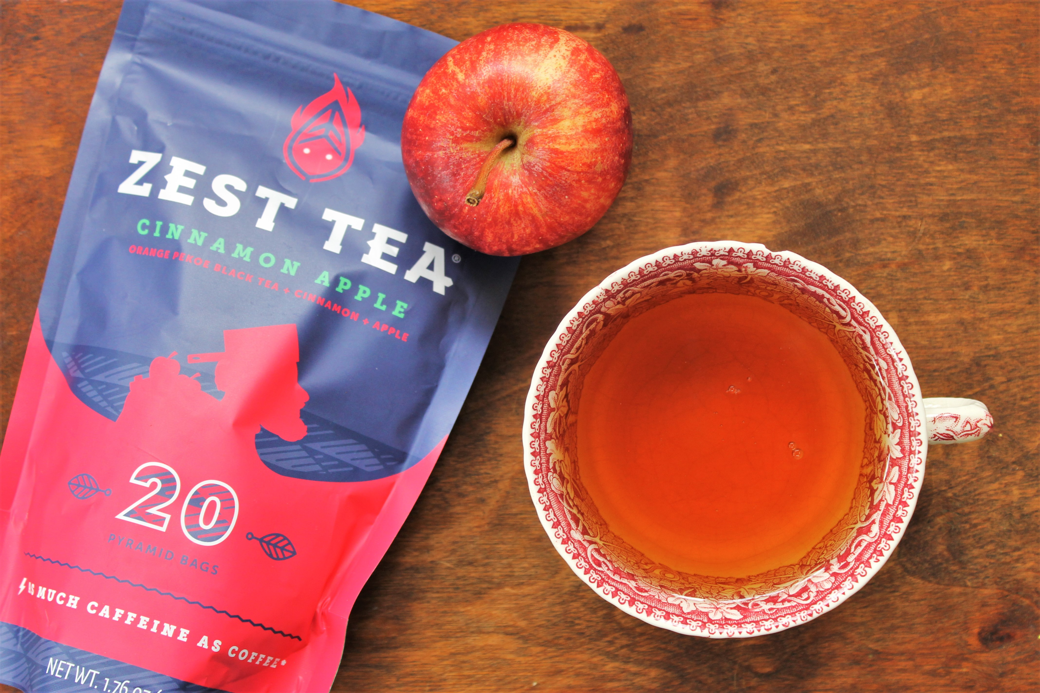 Zest Tea Cinnamon Apple Review