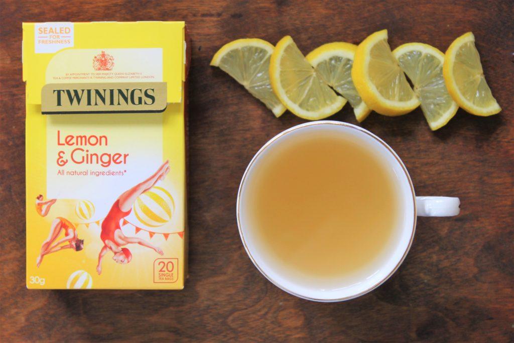Twinings Lemon & Ginger Tea Review   Izzy's Corner at IW Blog