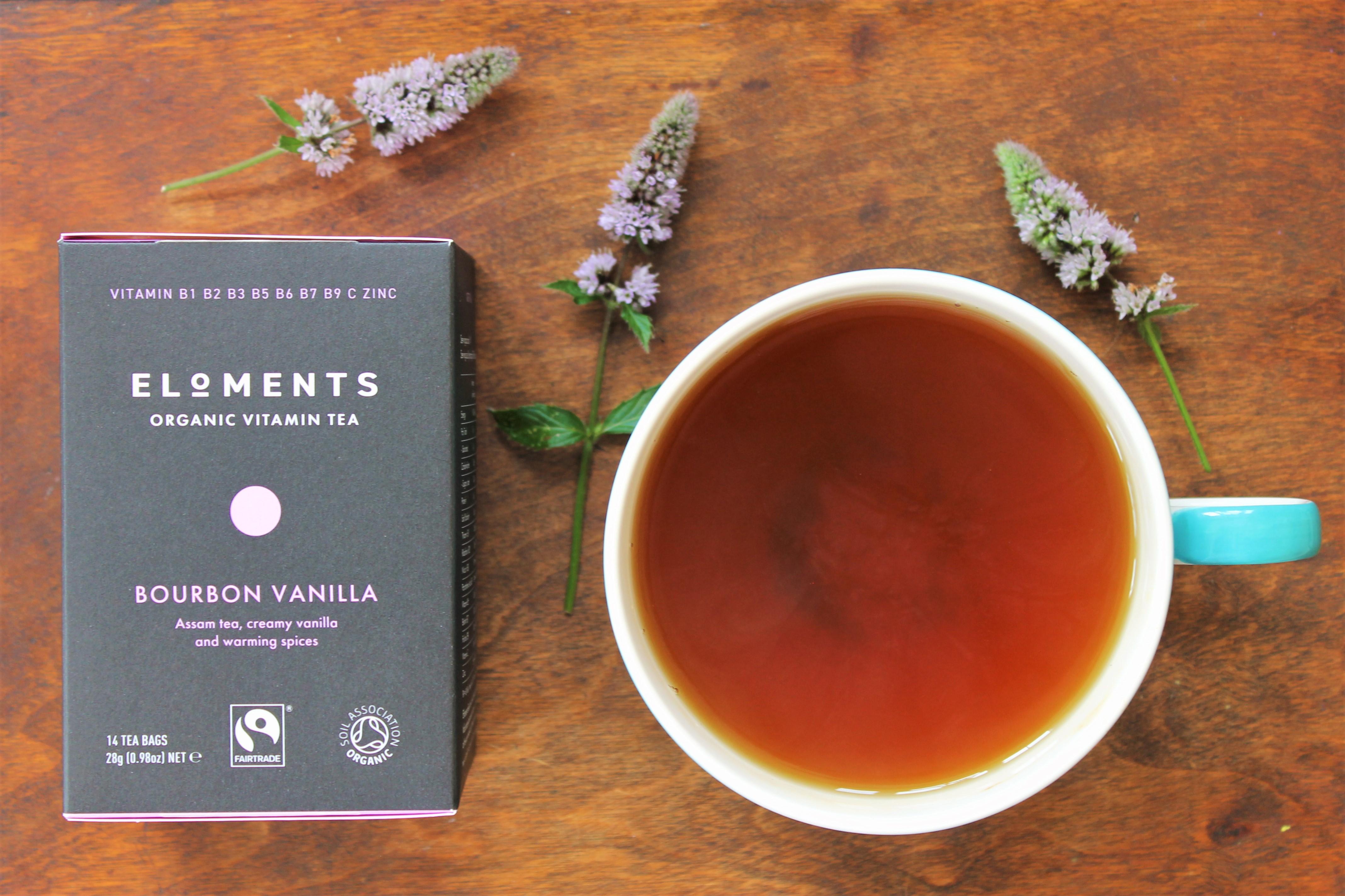 Eloments Bourbon Vanilla Tea Review