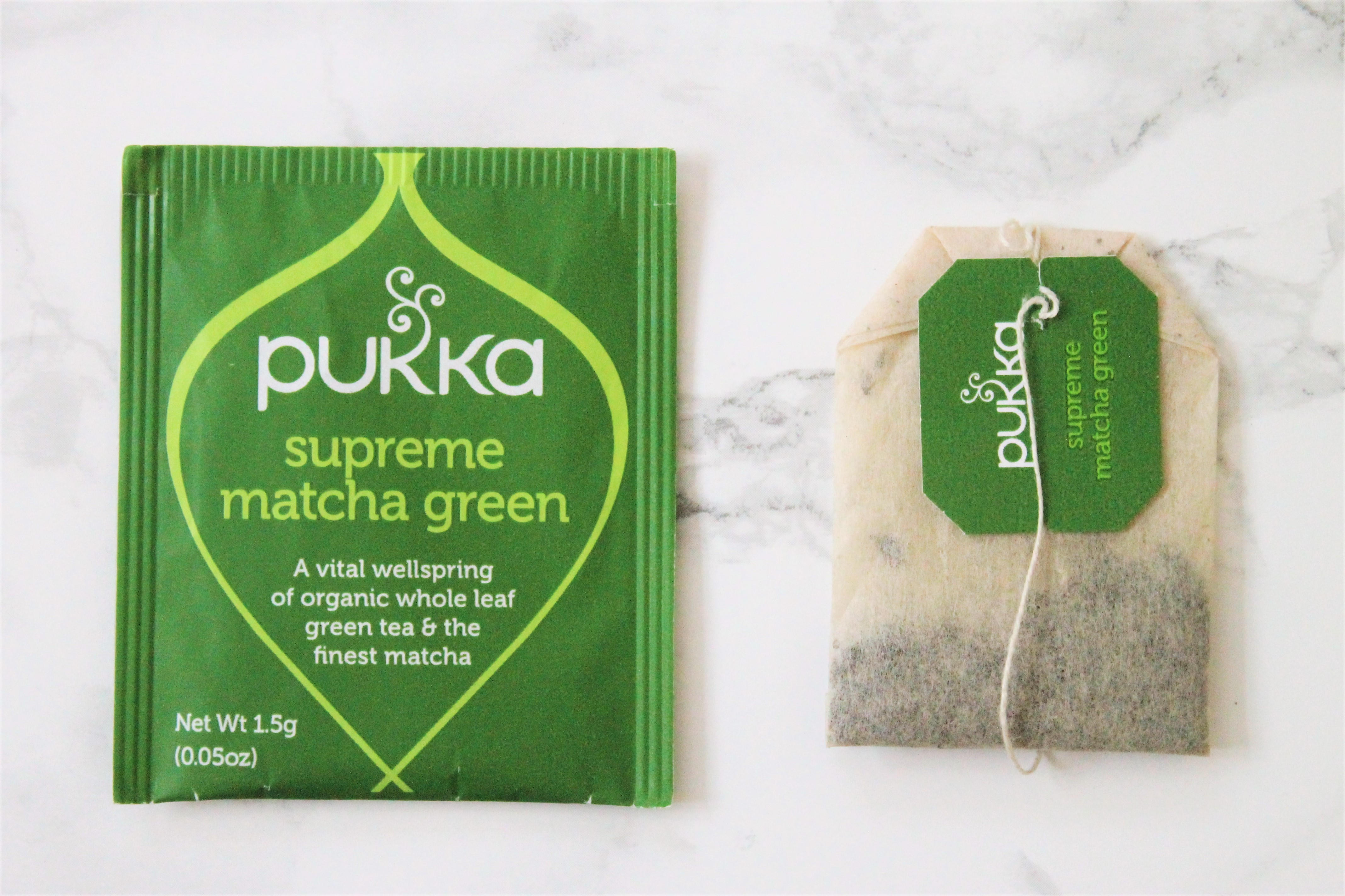 pukka supreme matcha green tea bags