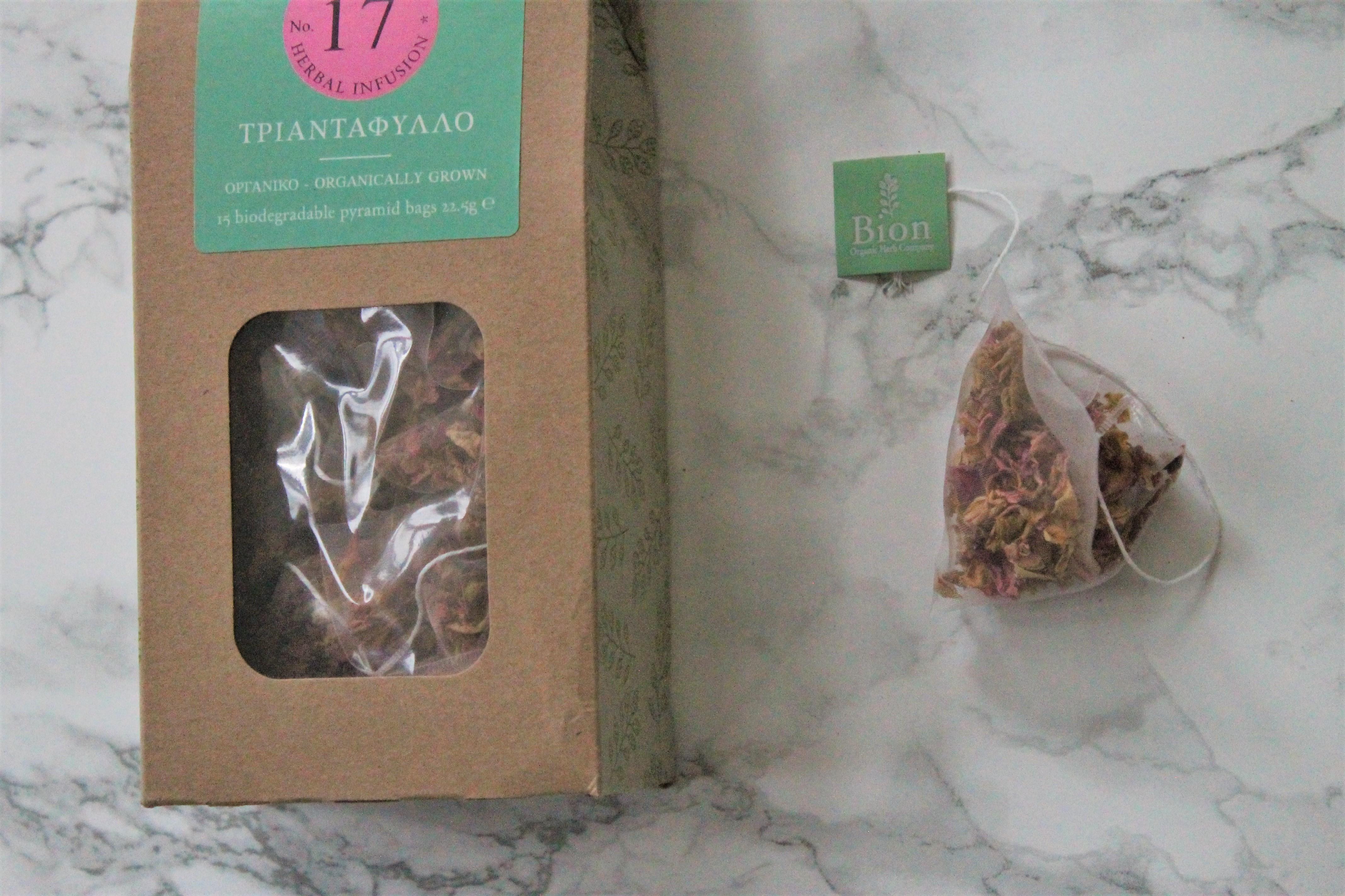 bion rose petal tea