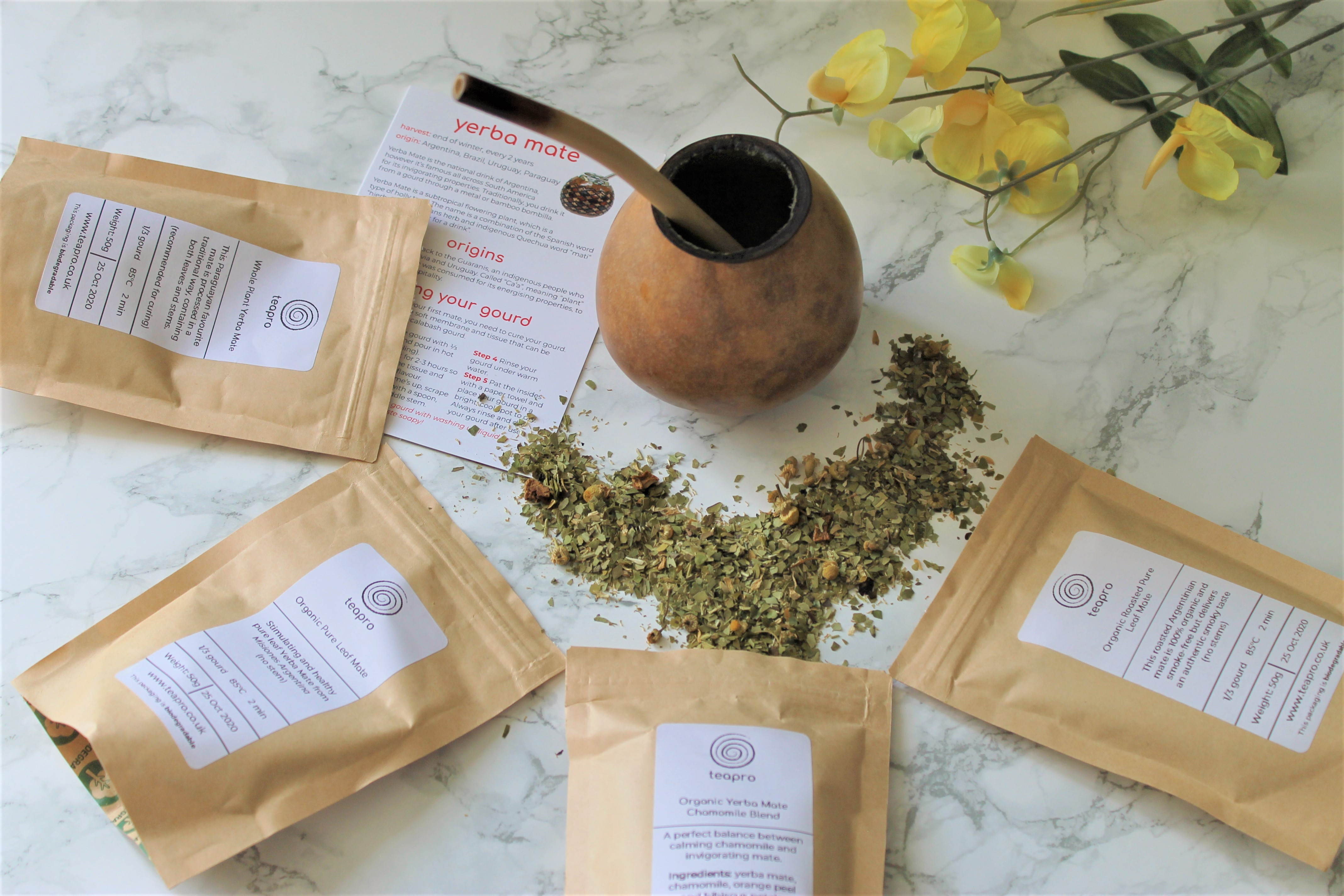 Teapro Subscription Box: 'Yerba Mates' August 2019