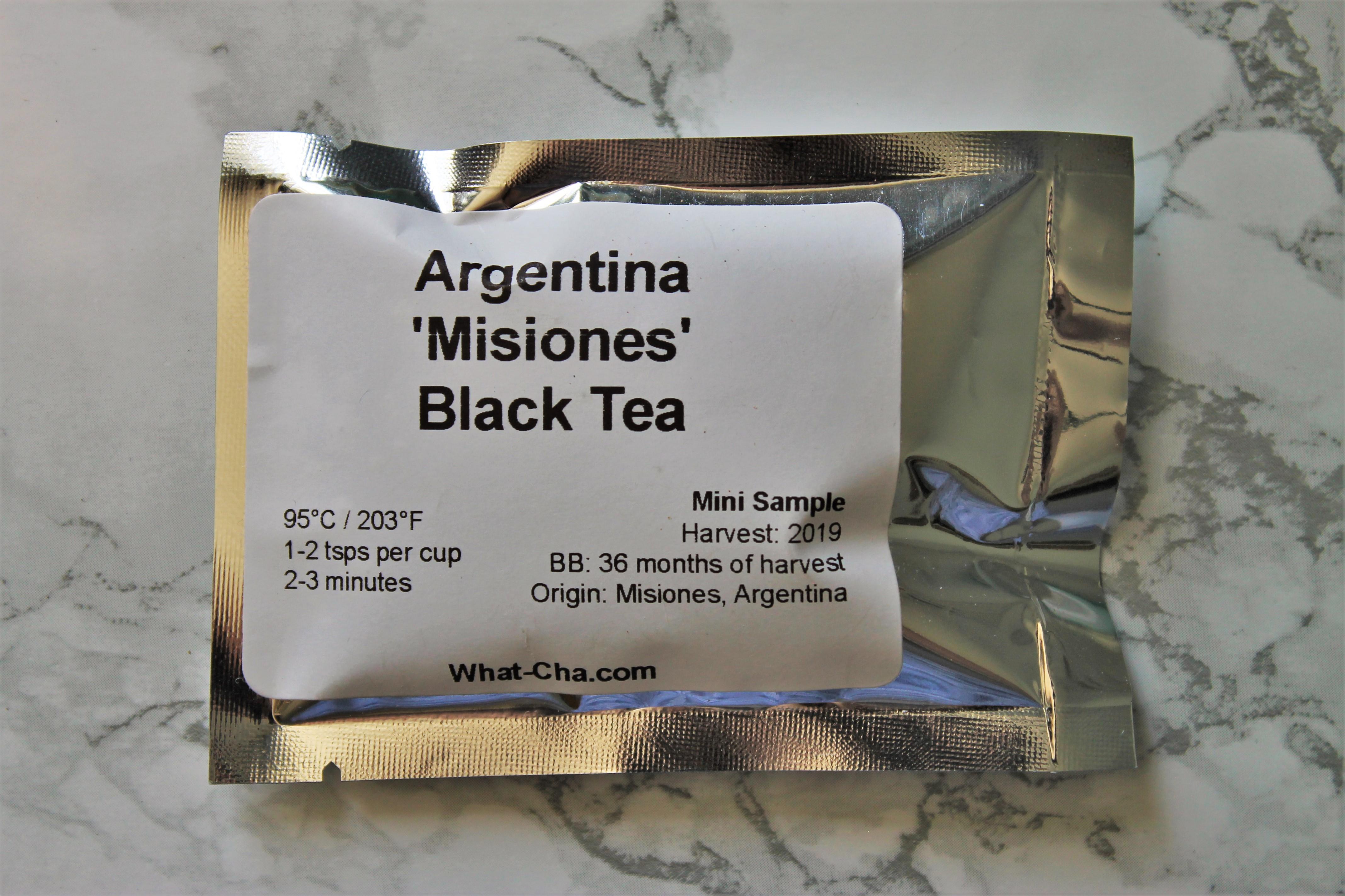 argentina misiones black tea