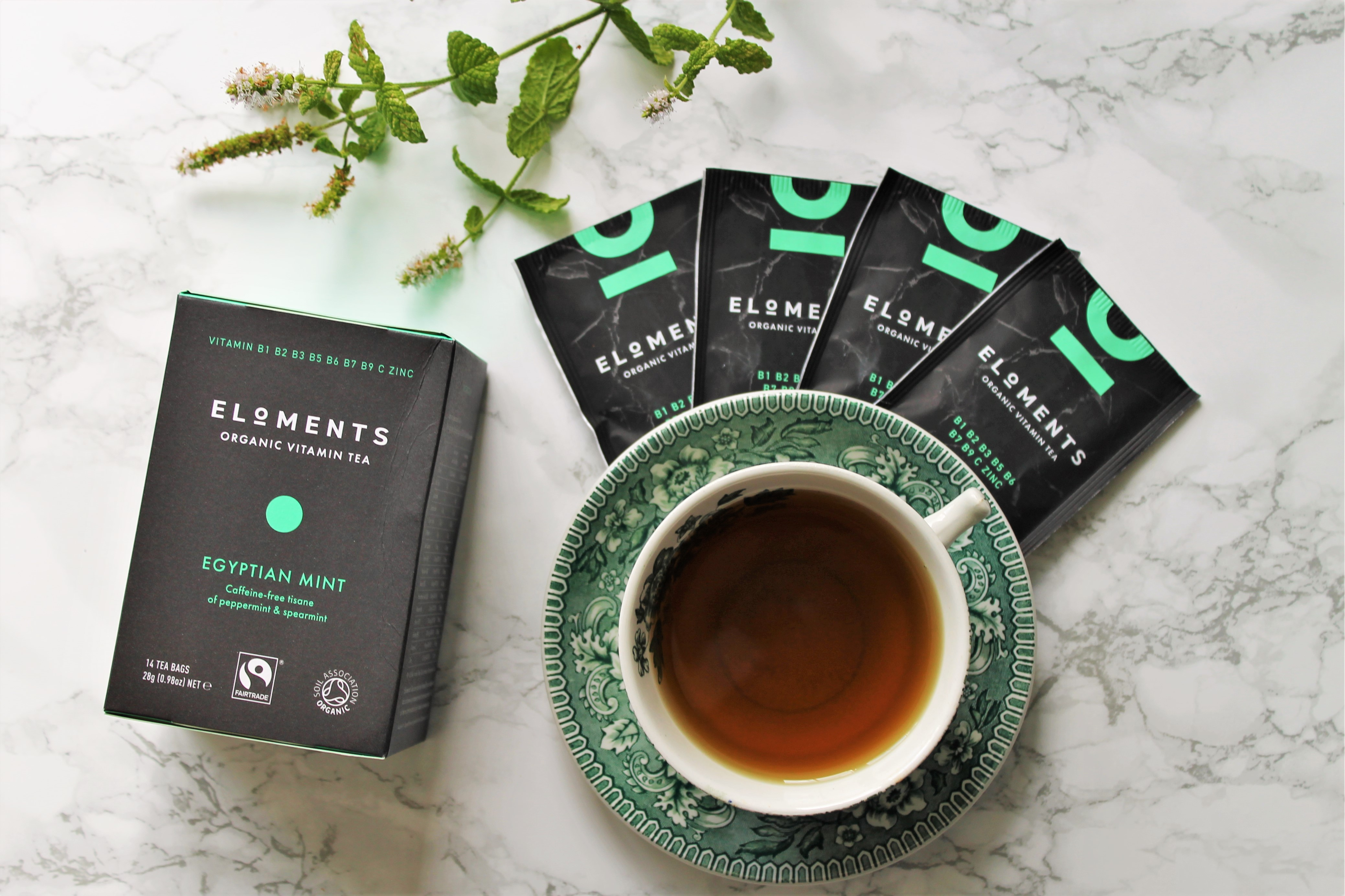 Eloments Egyptian Mint Tea Review