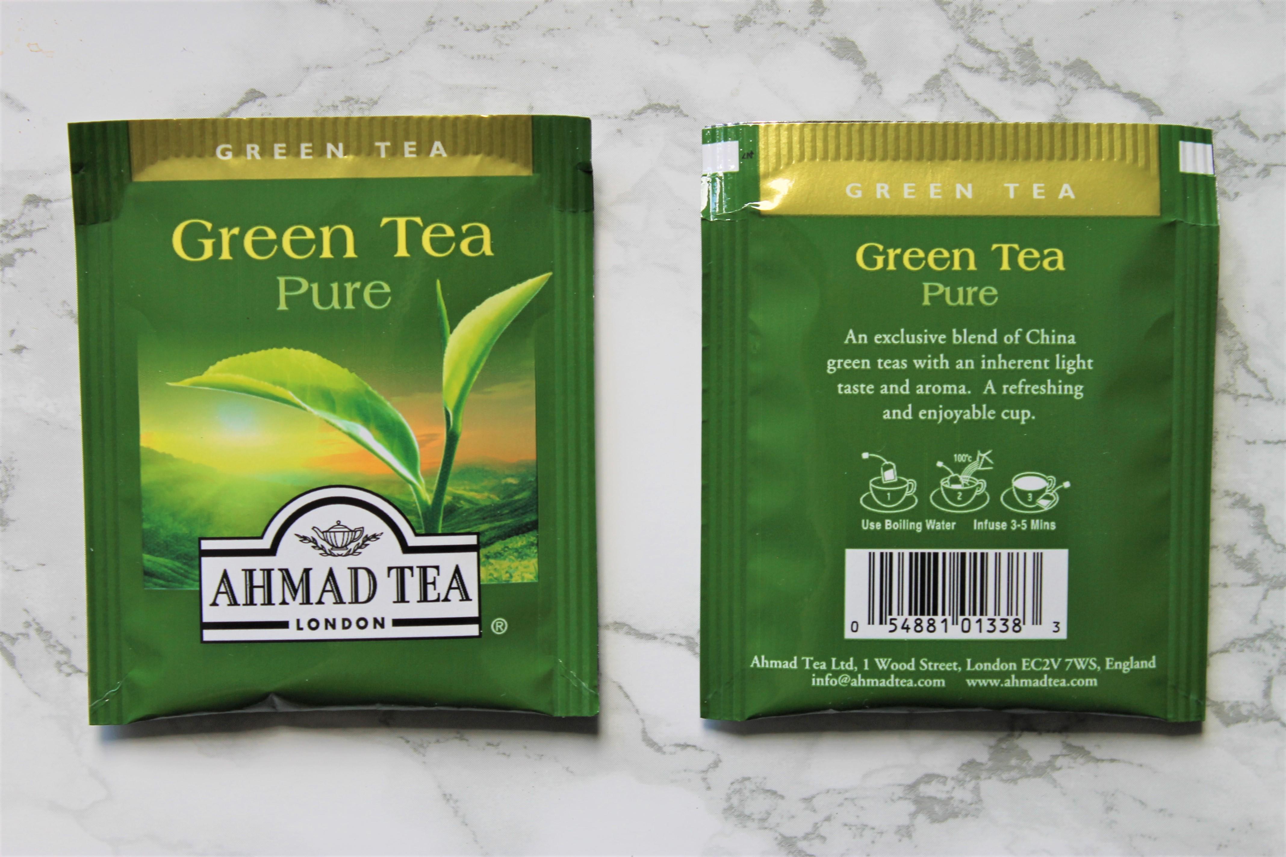 ahmad green tea pure tea bags