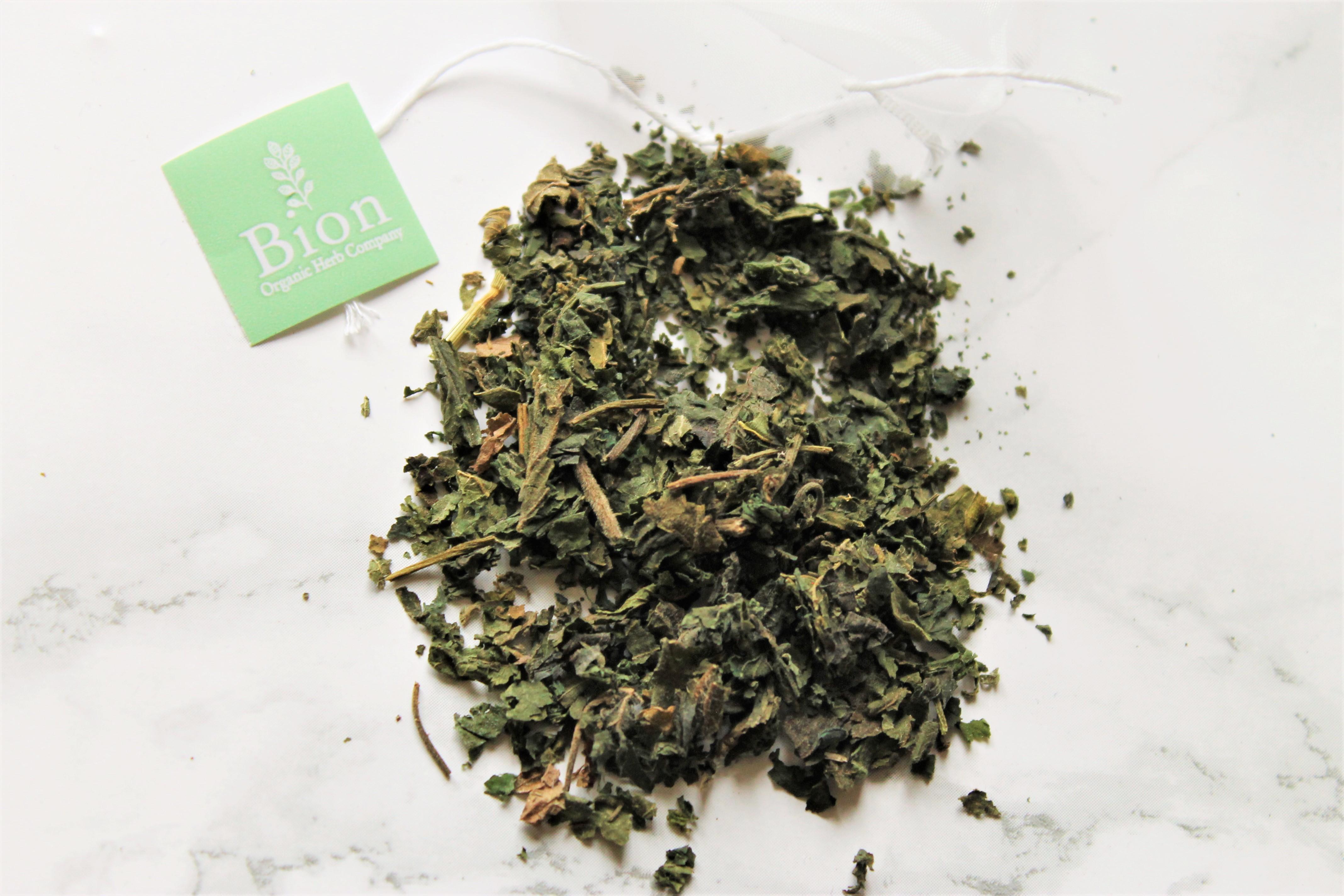 loose dried nettle tea