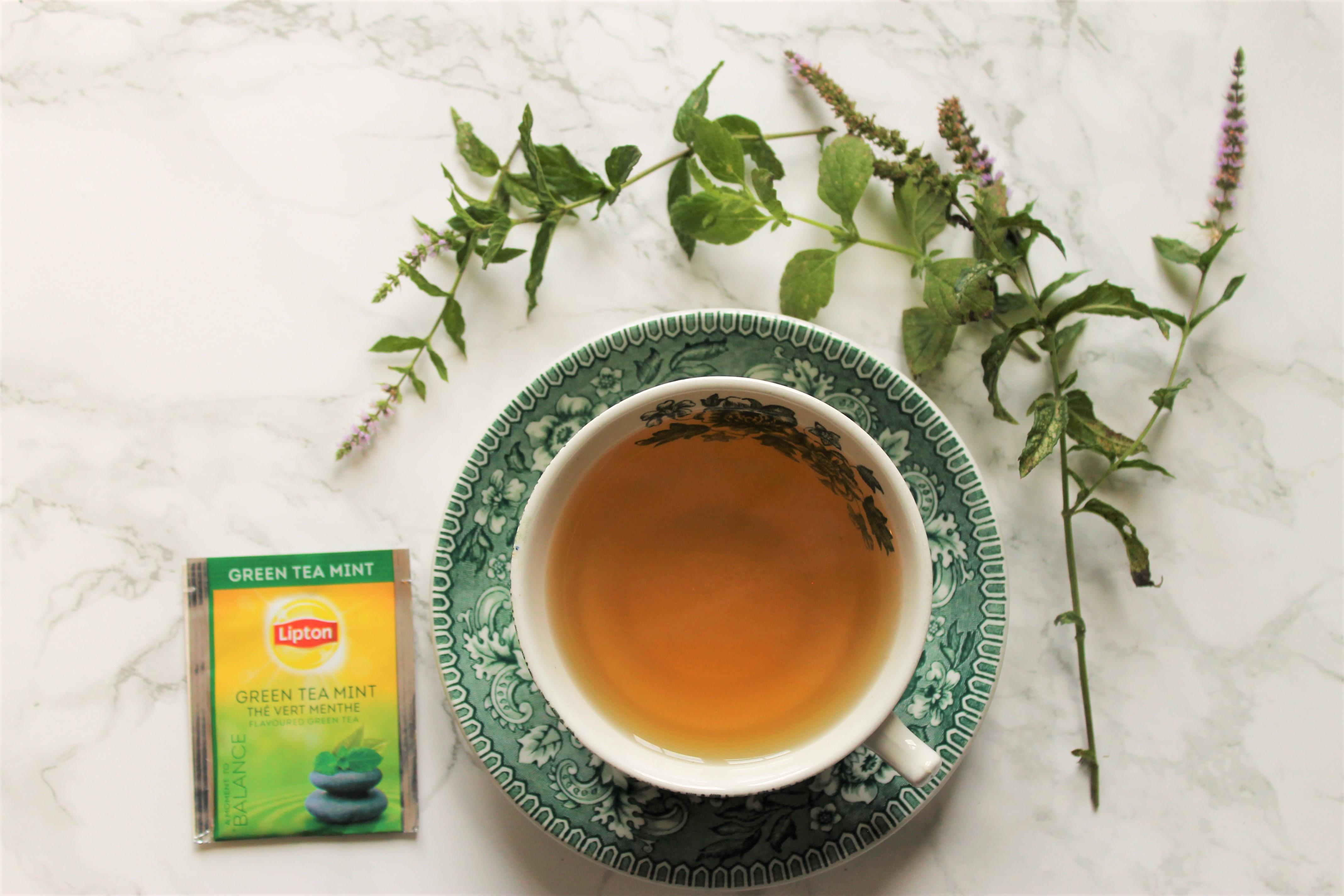 Lipton Green Tea Mint Tea Review
