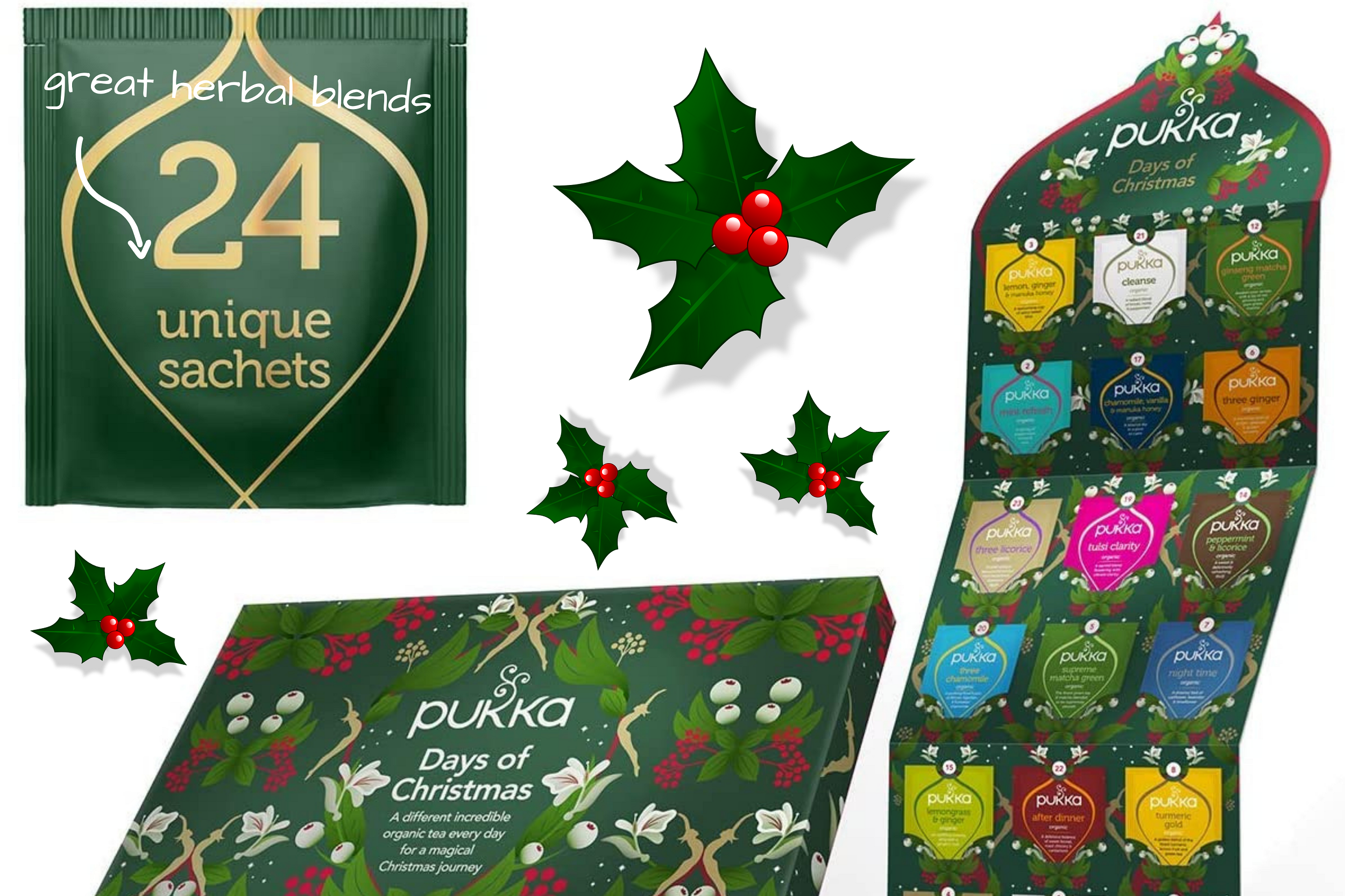 pukka herbal tea advent calendar 2020