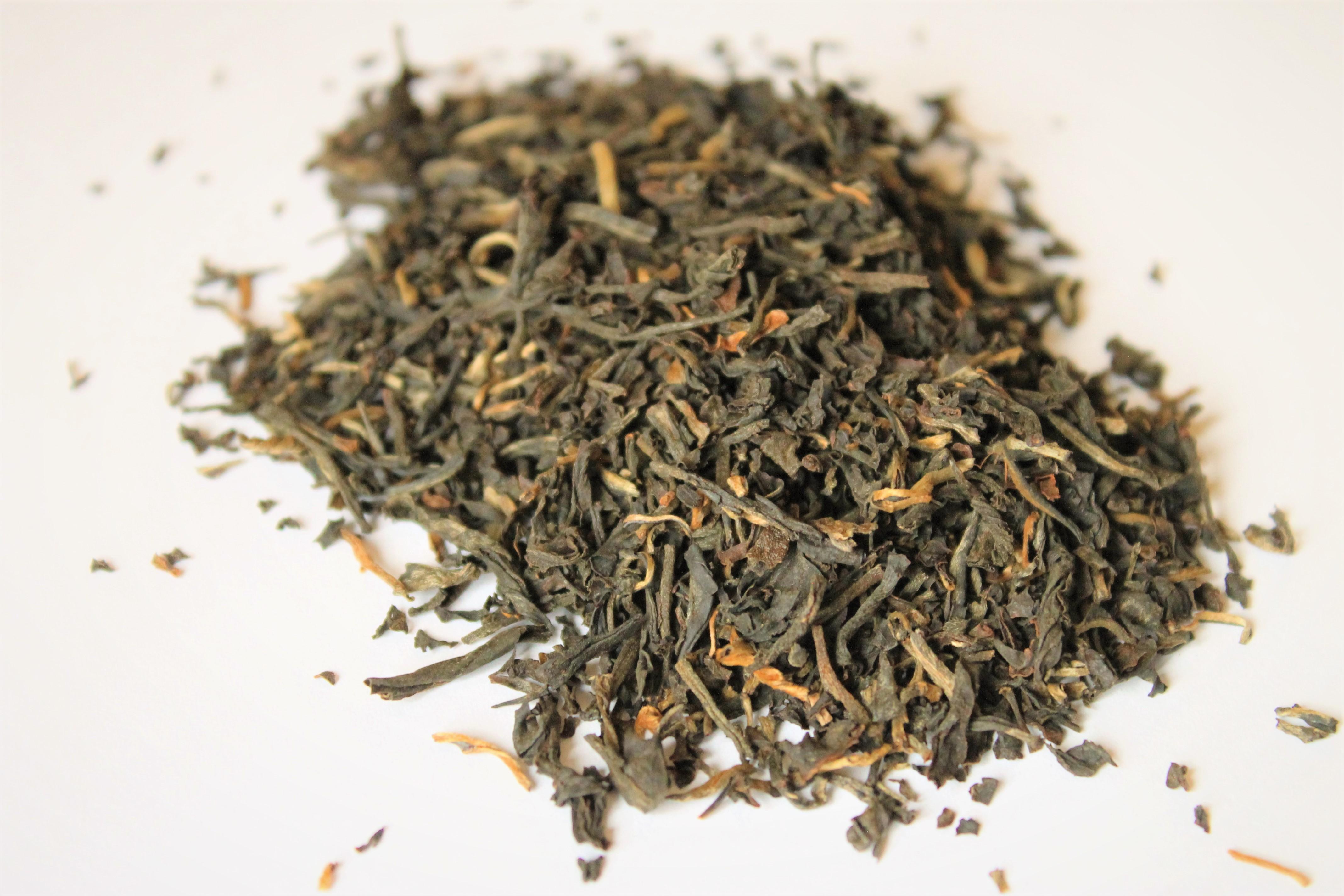 loose leaf golden tippy assam tea
