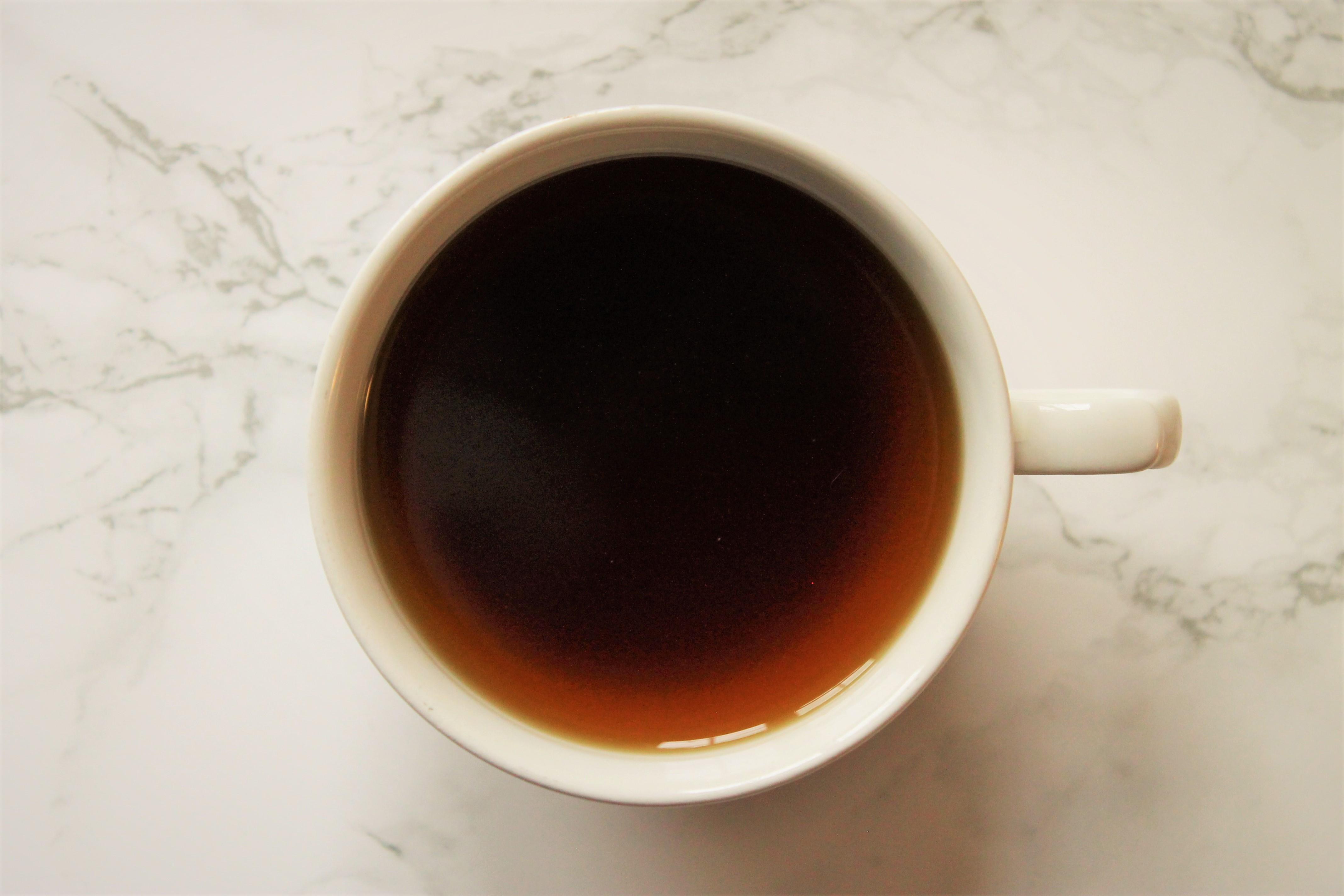 assam tea in teacup