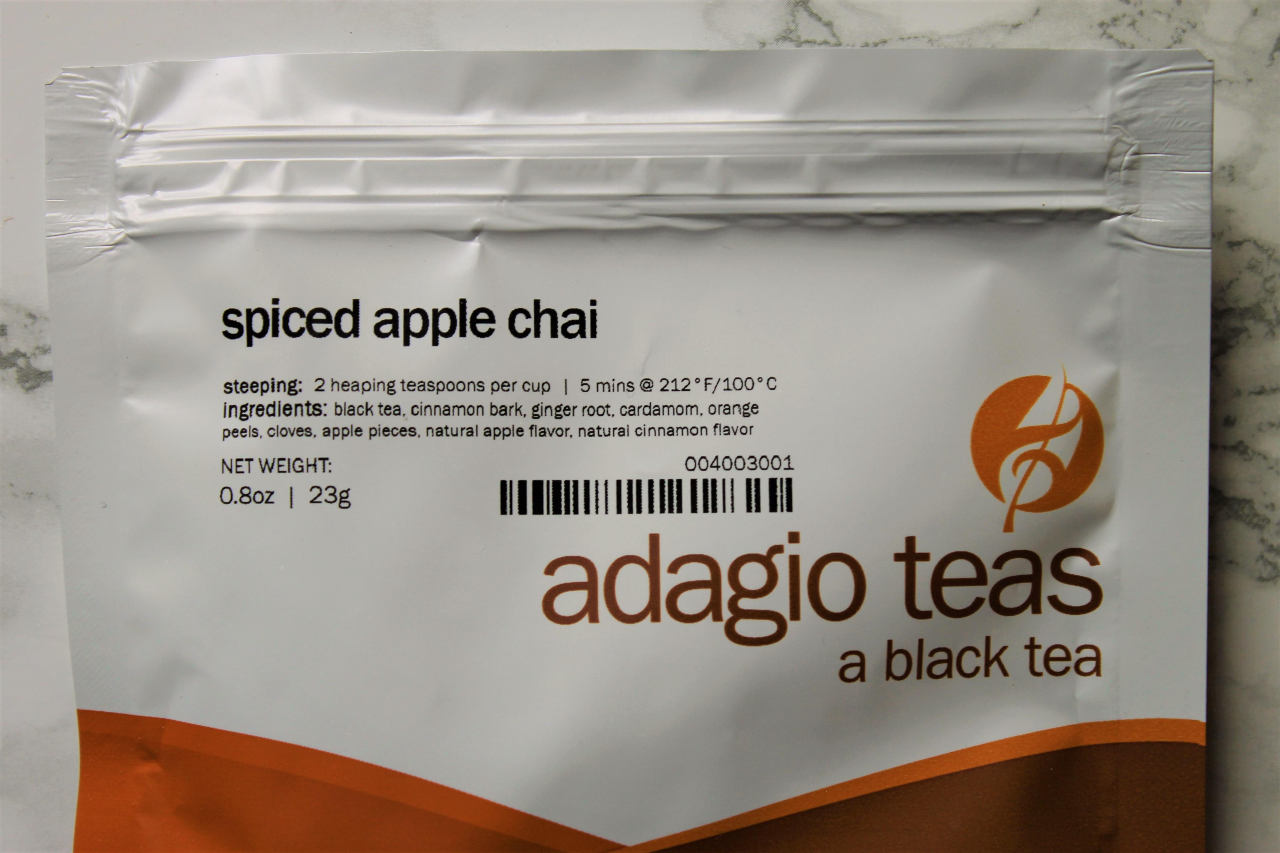 spiced apple chai tea by adagio