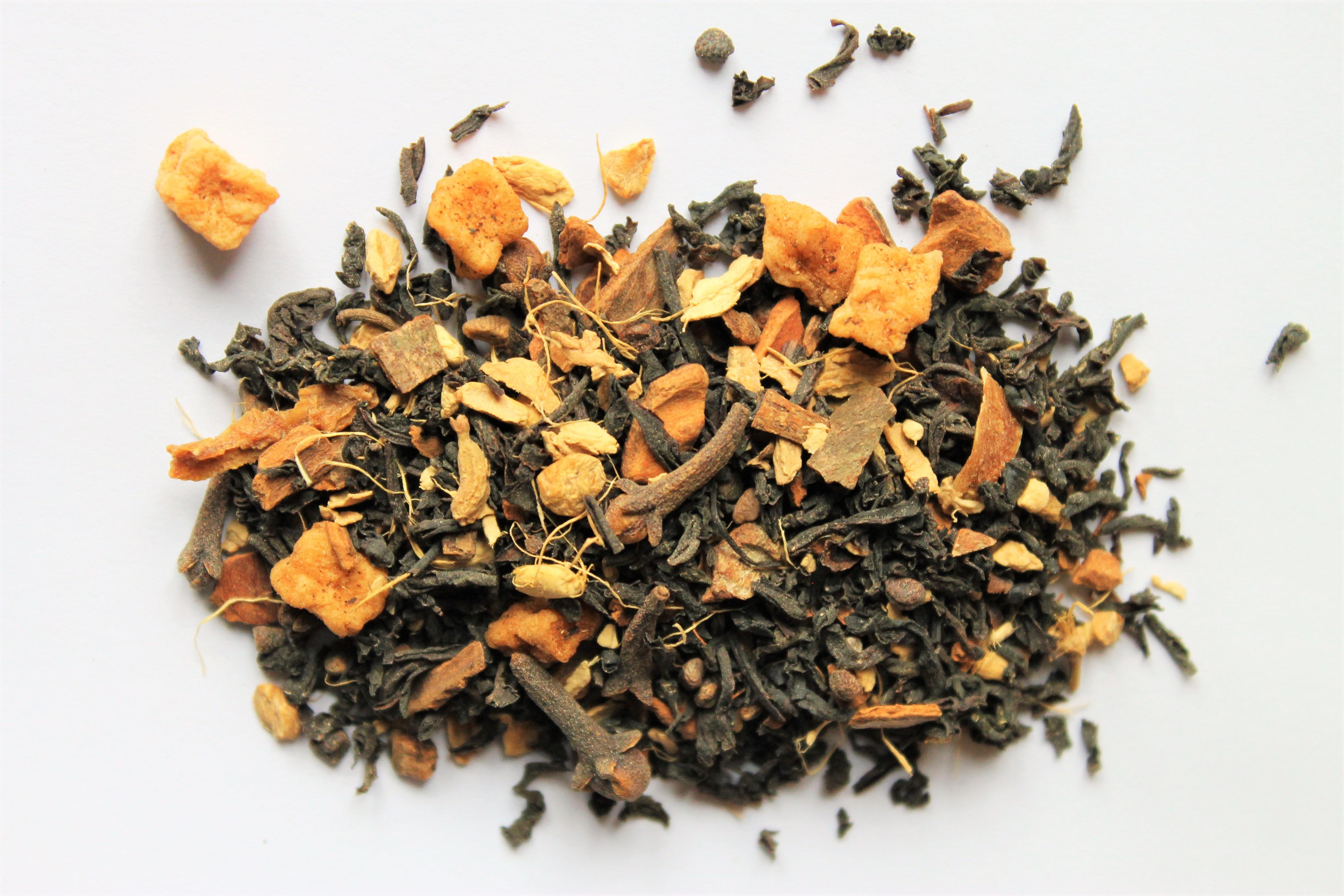 adagio spiced apple chai blend tea for autumn