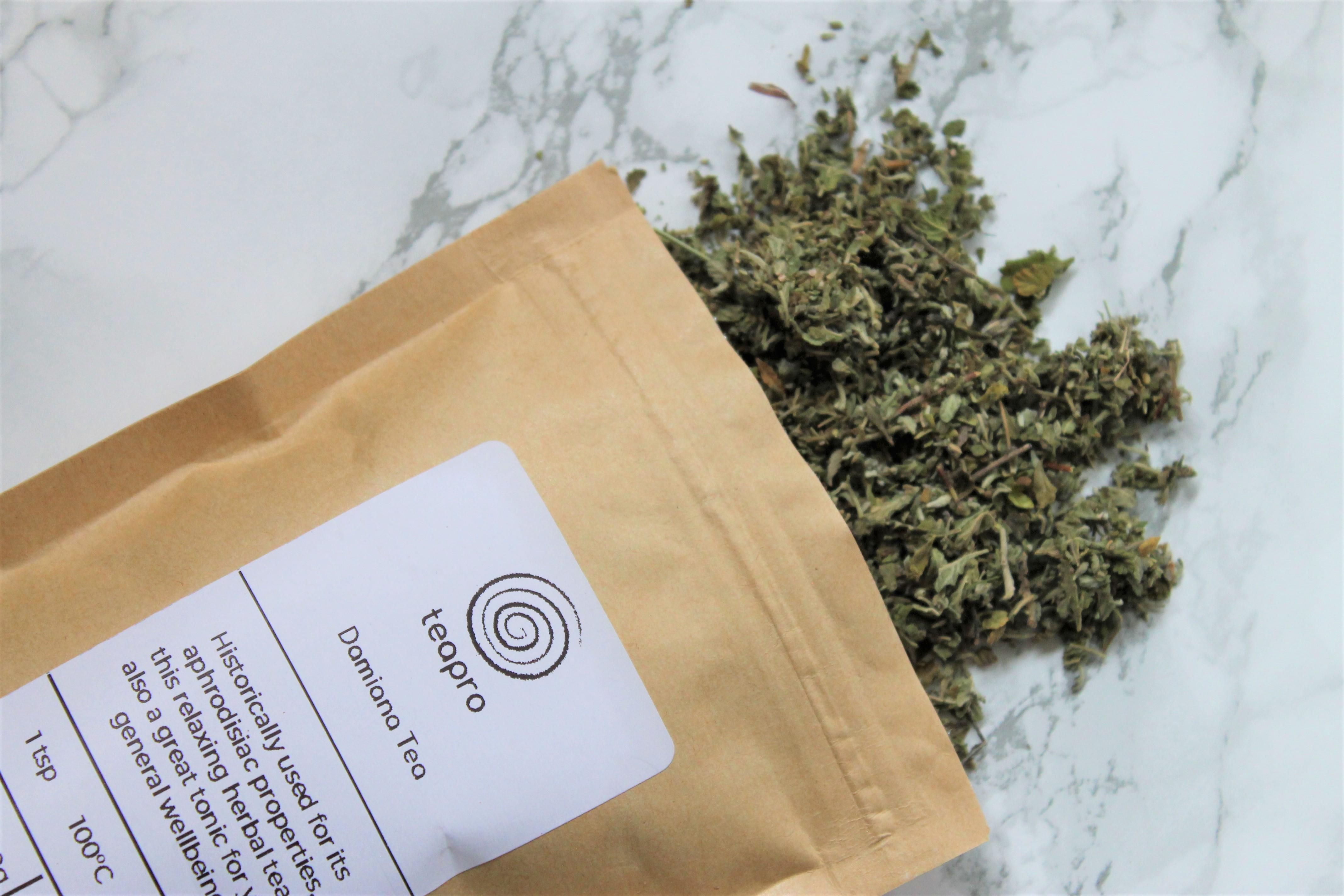 damiana flower tea