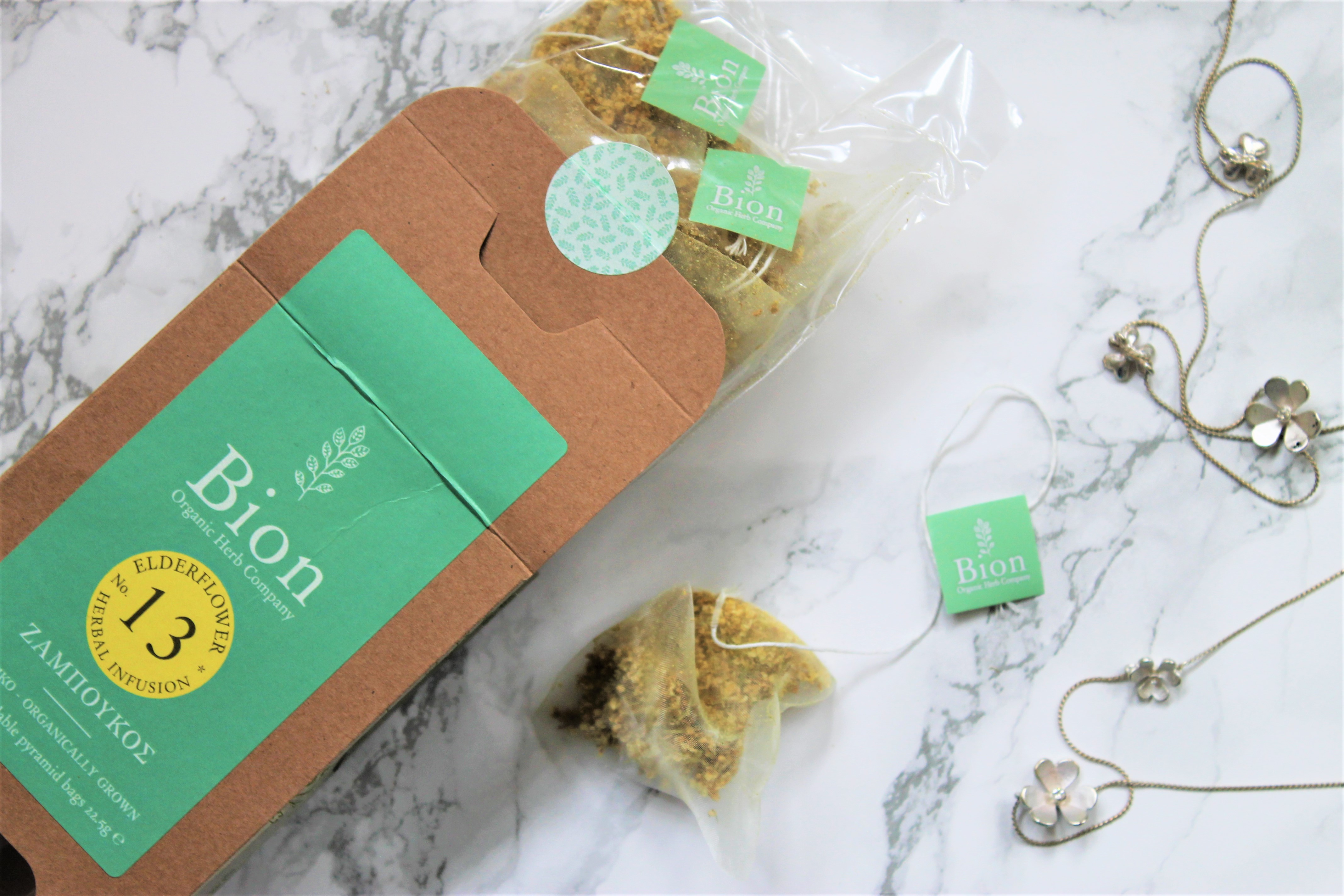 elderflower tea bags