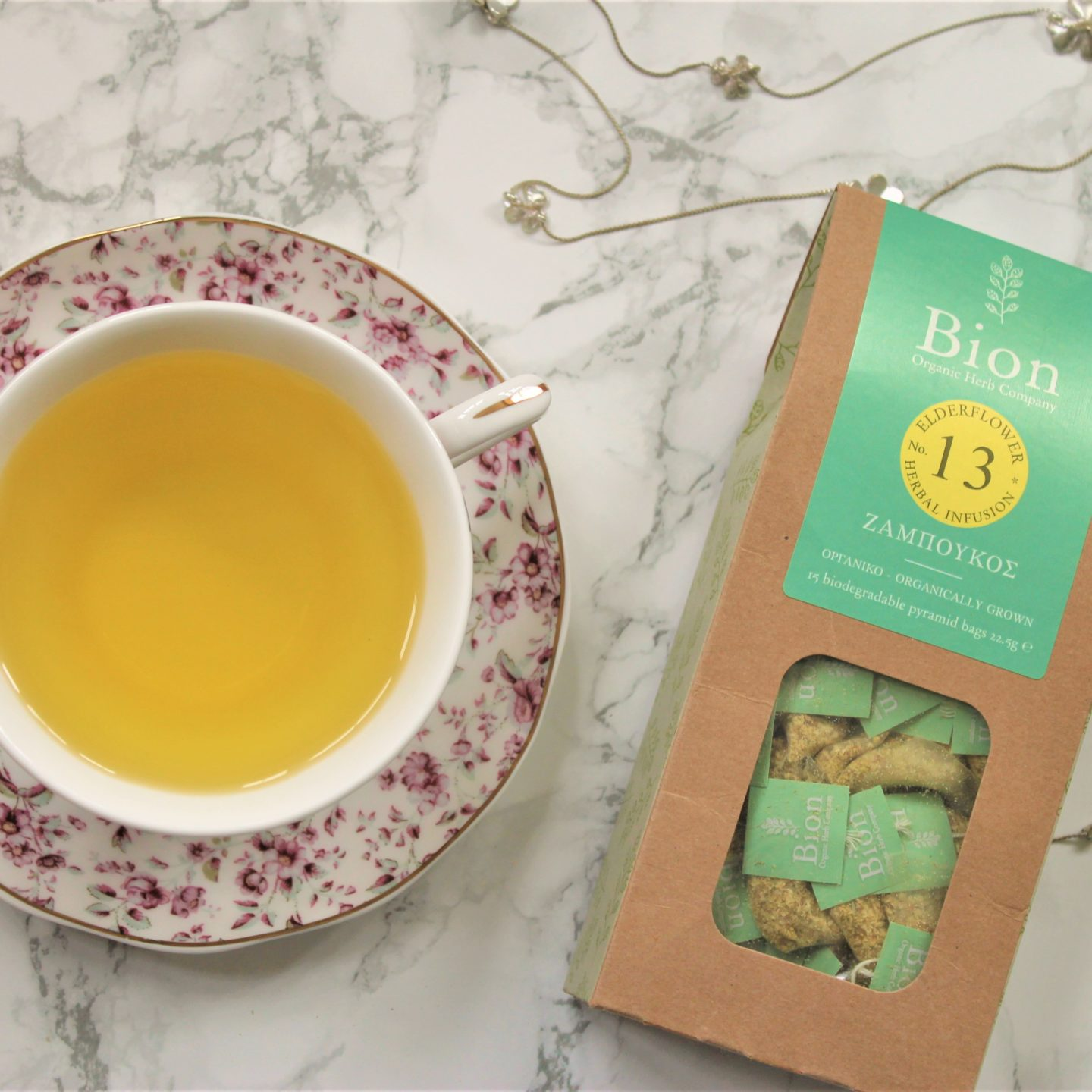 Bion Elderflower Tea Review