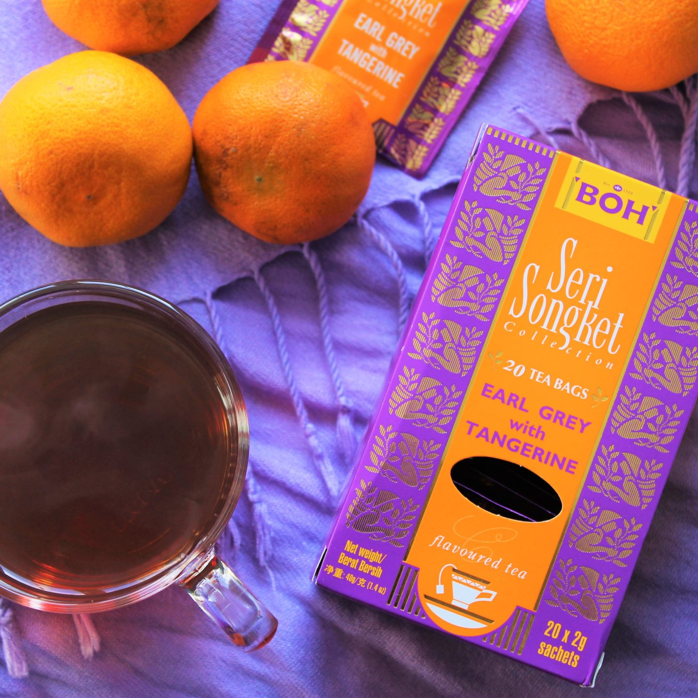BOH Earl Grey with Tangerine Tea Review