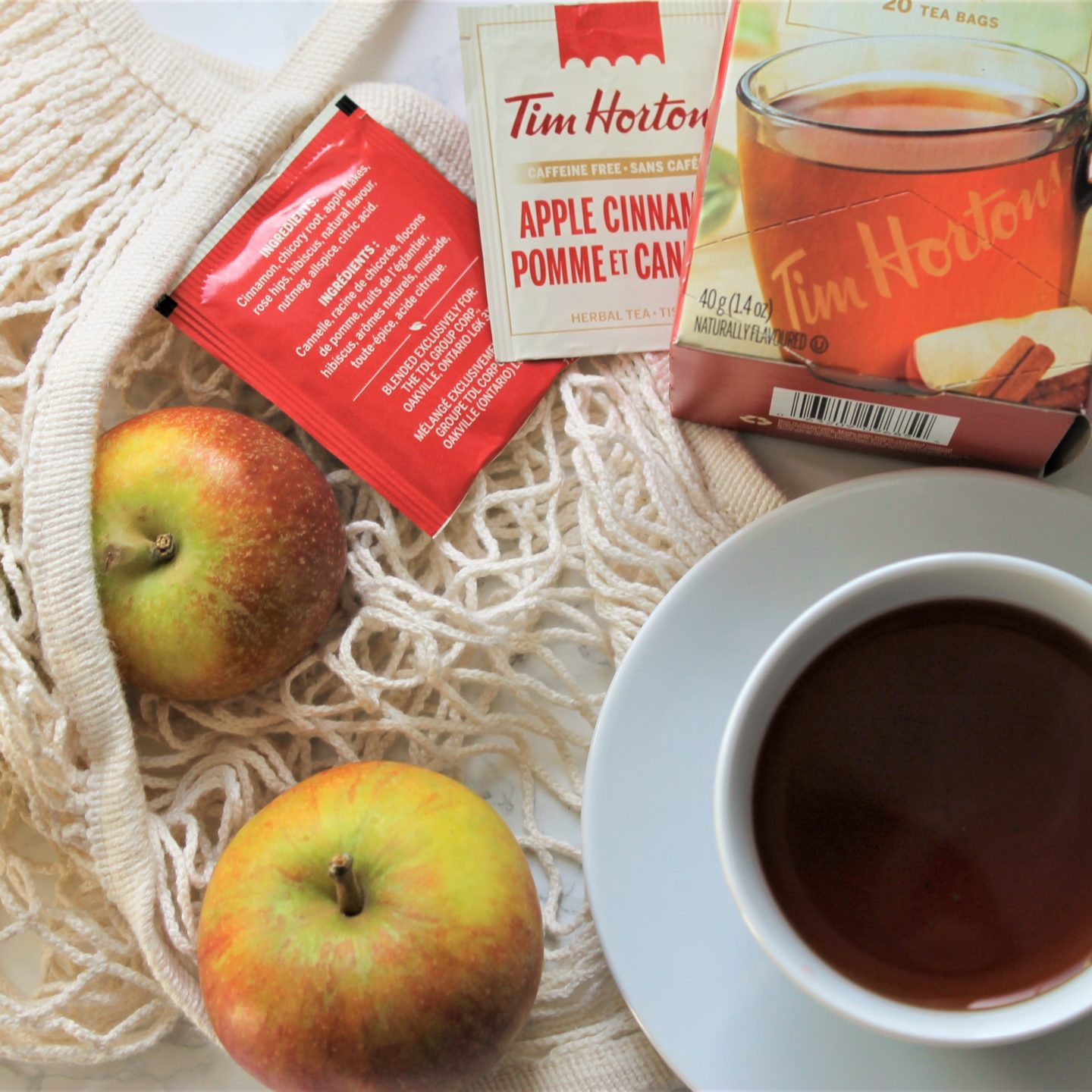Tim Hortons Apple Cinnamon Tea Review