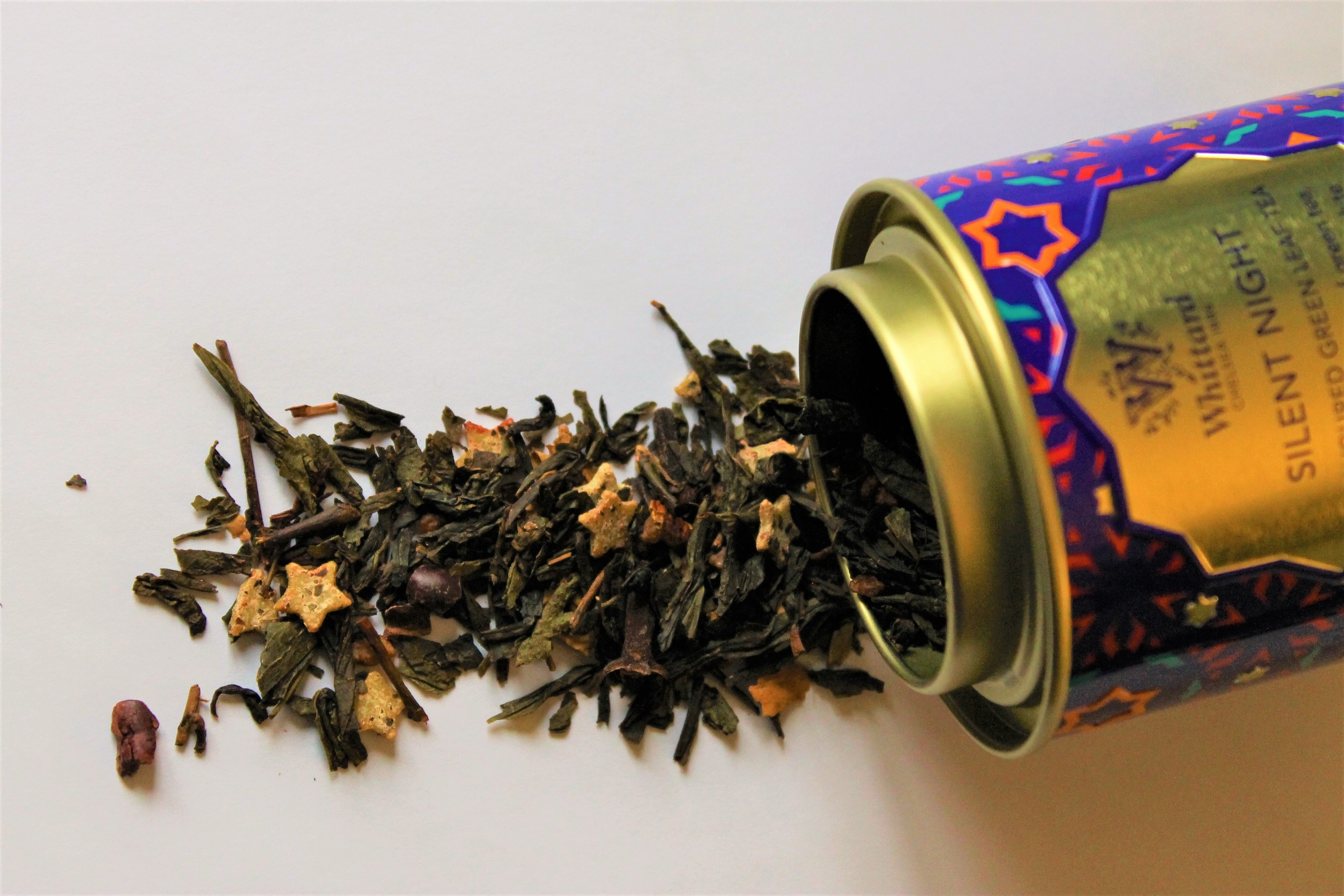 Flavoured green tea loose leaf