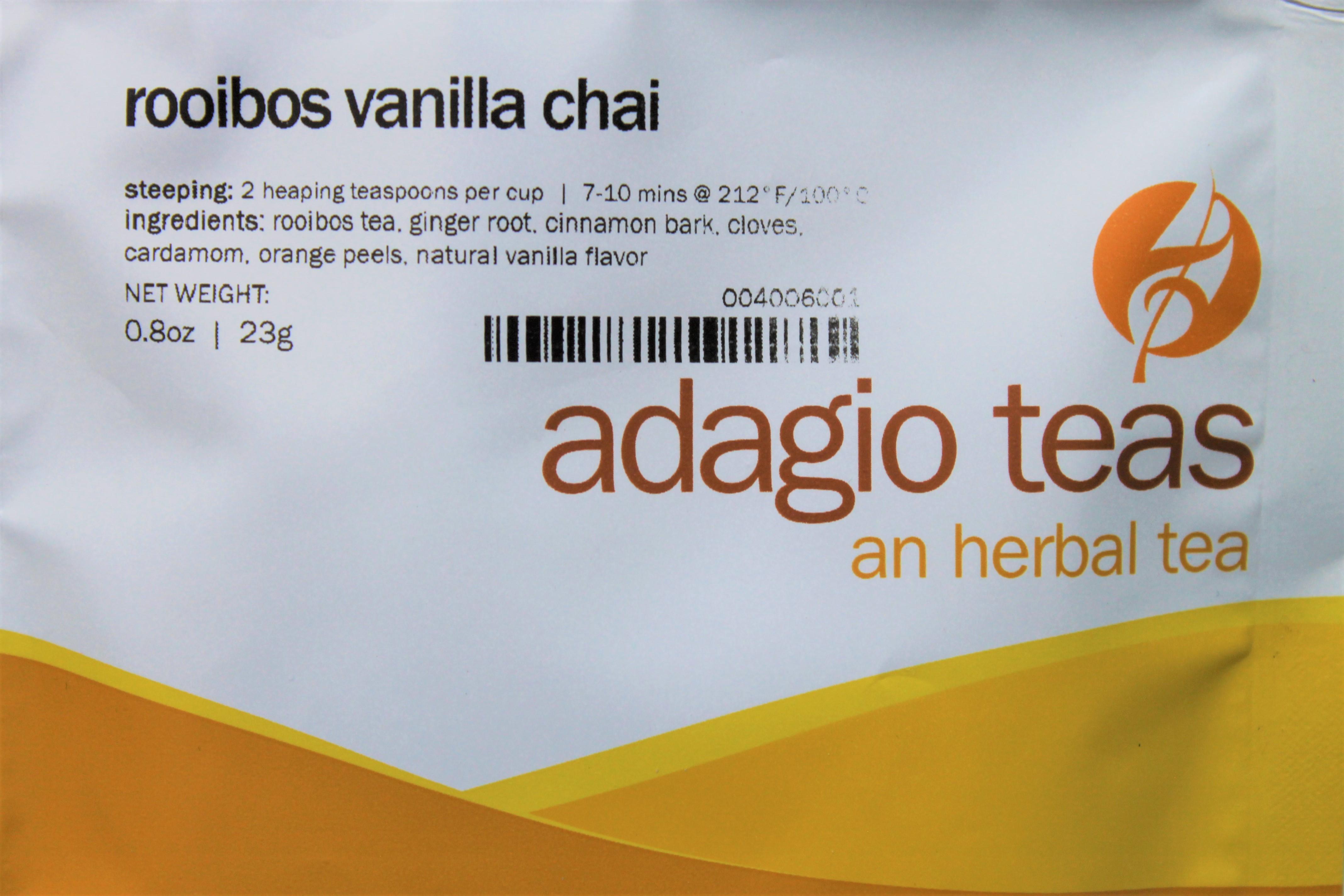 adagio teas rooibos chai sampler pack