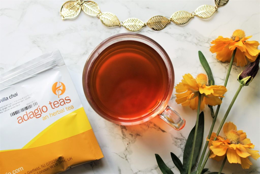 adagio rooibos vanilla chai tea review