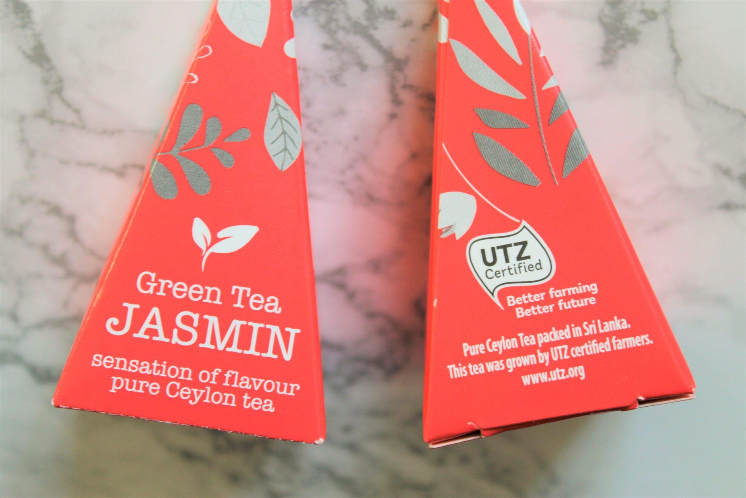 jasmin green tea pyramids