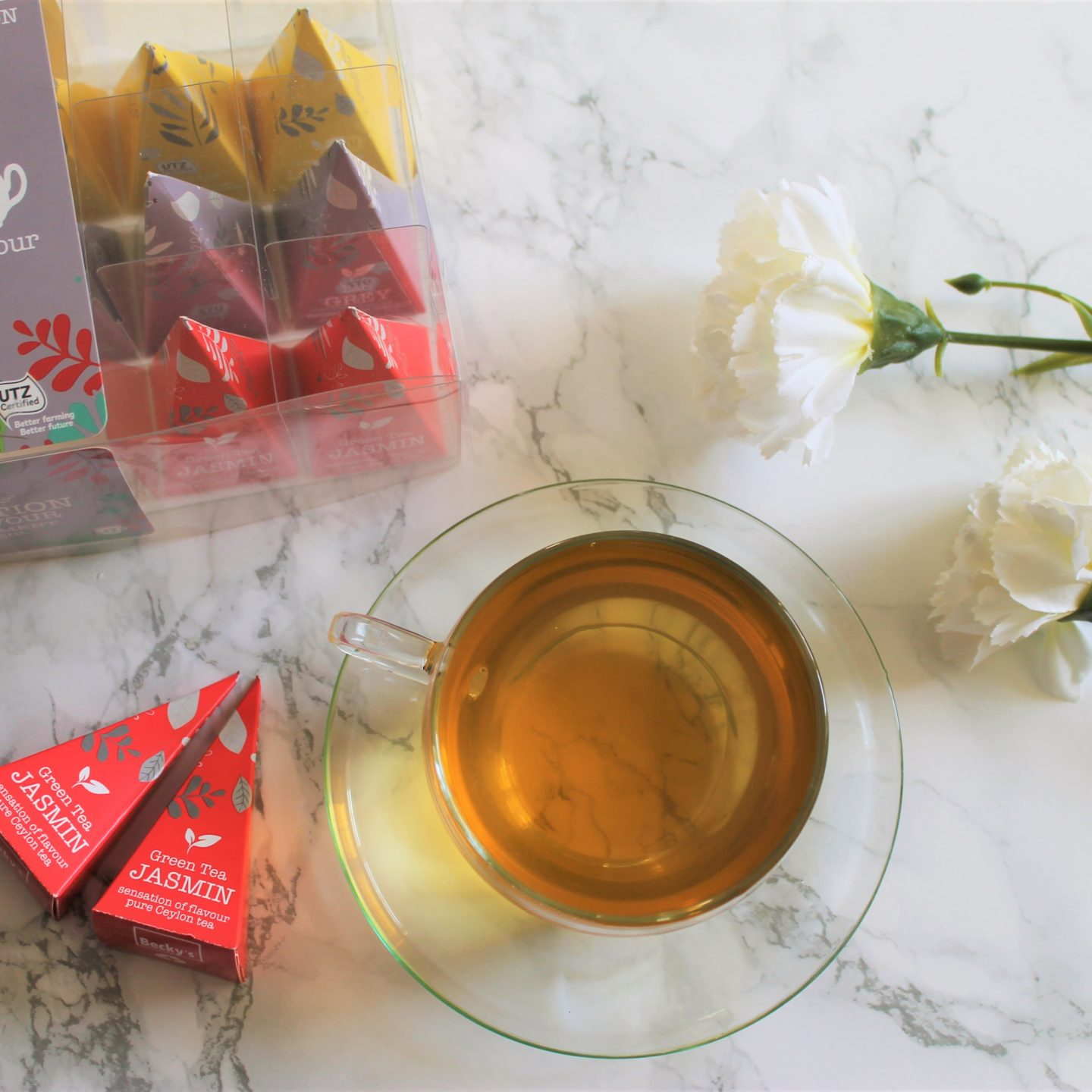 Becky's from Holland Green Tea Jasmin Review