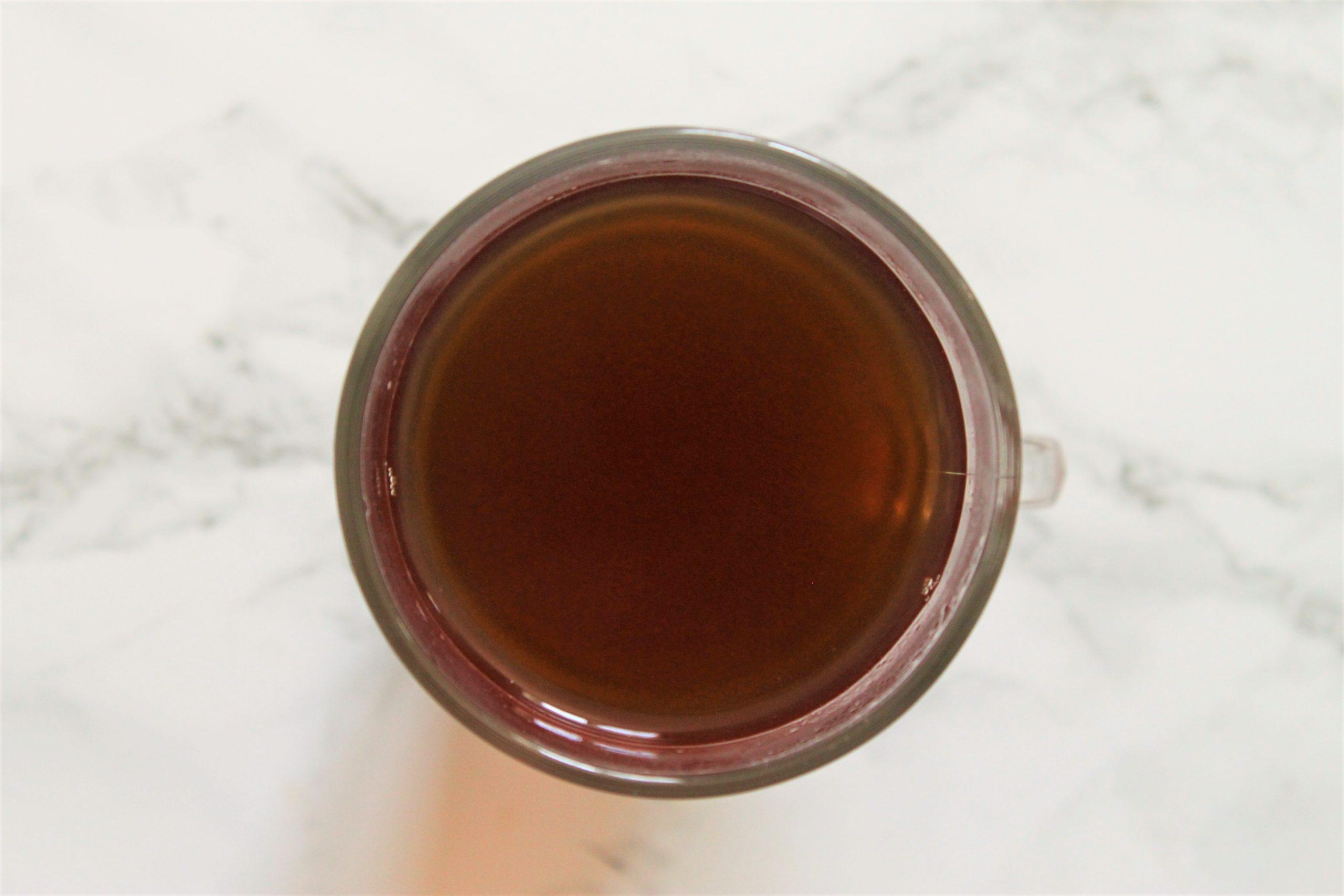chocolate brown tea