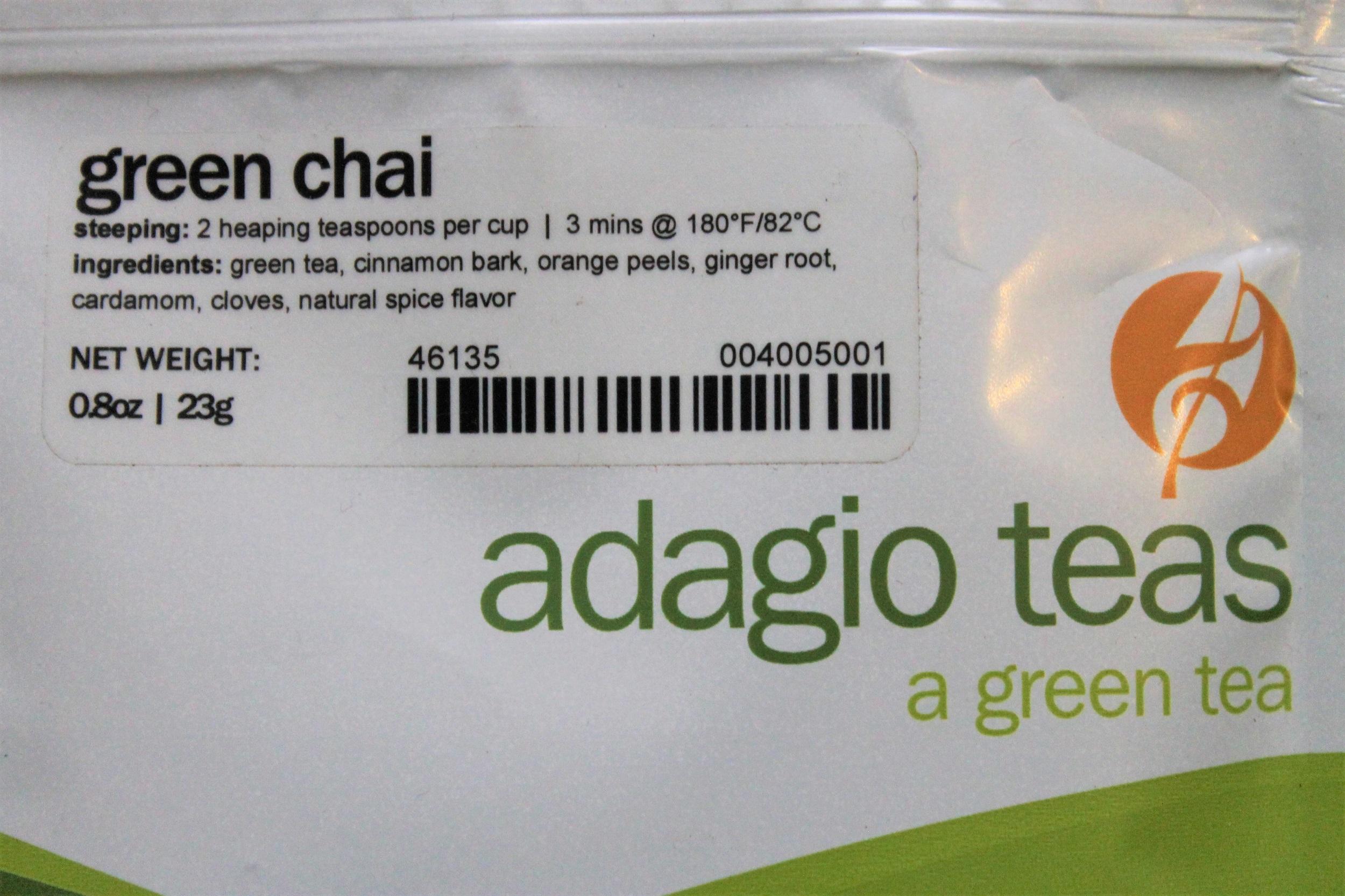 adagio green chai
